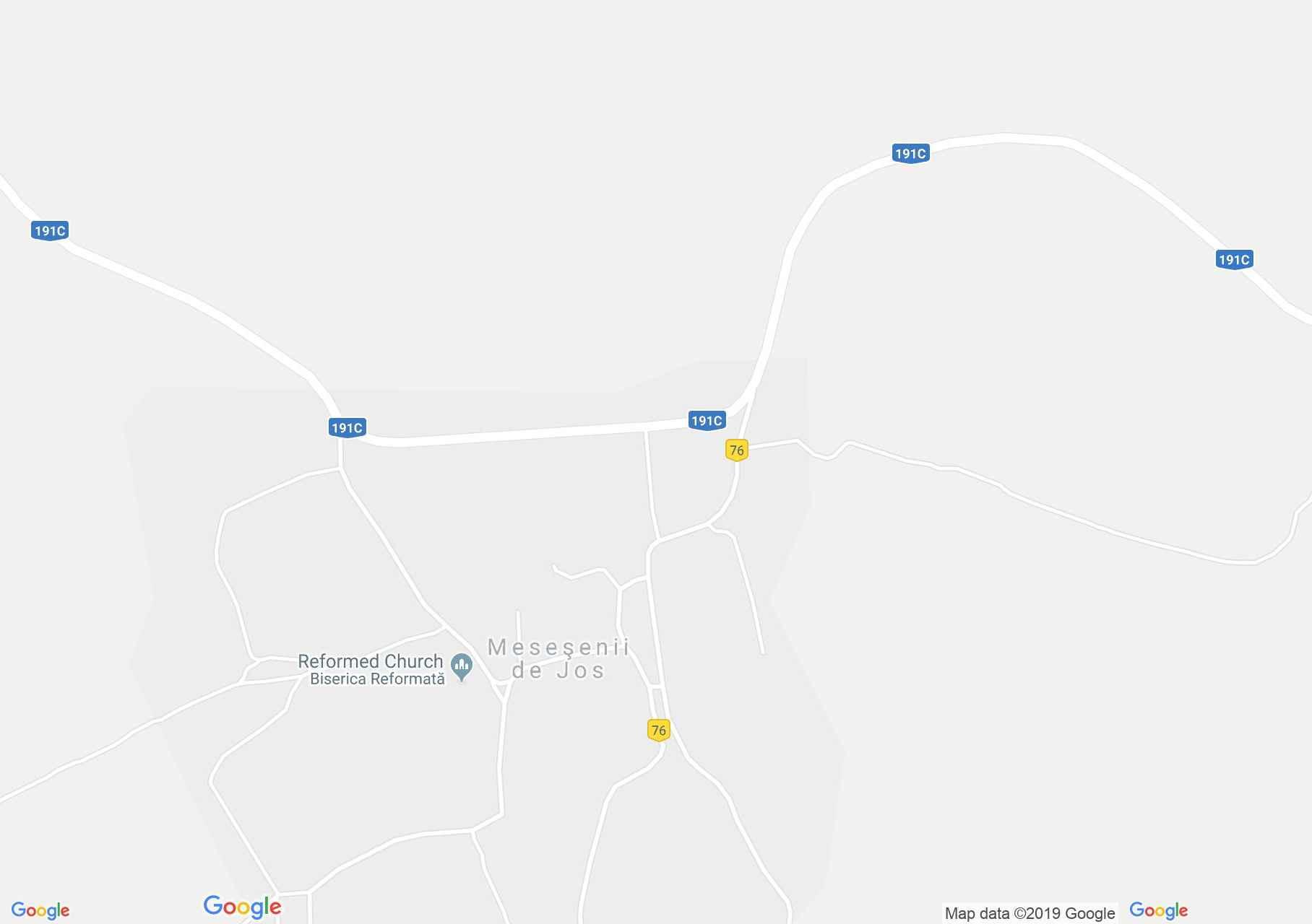 Magyarkecel (térkép)