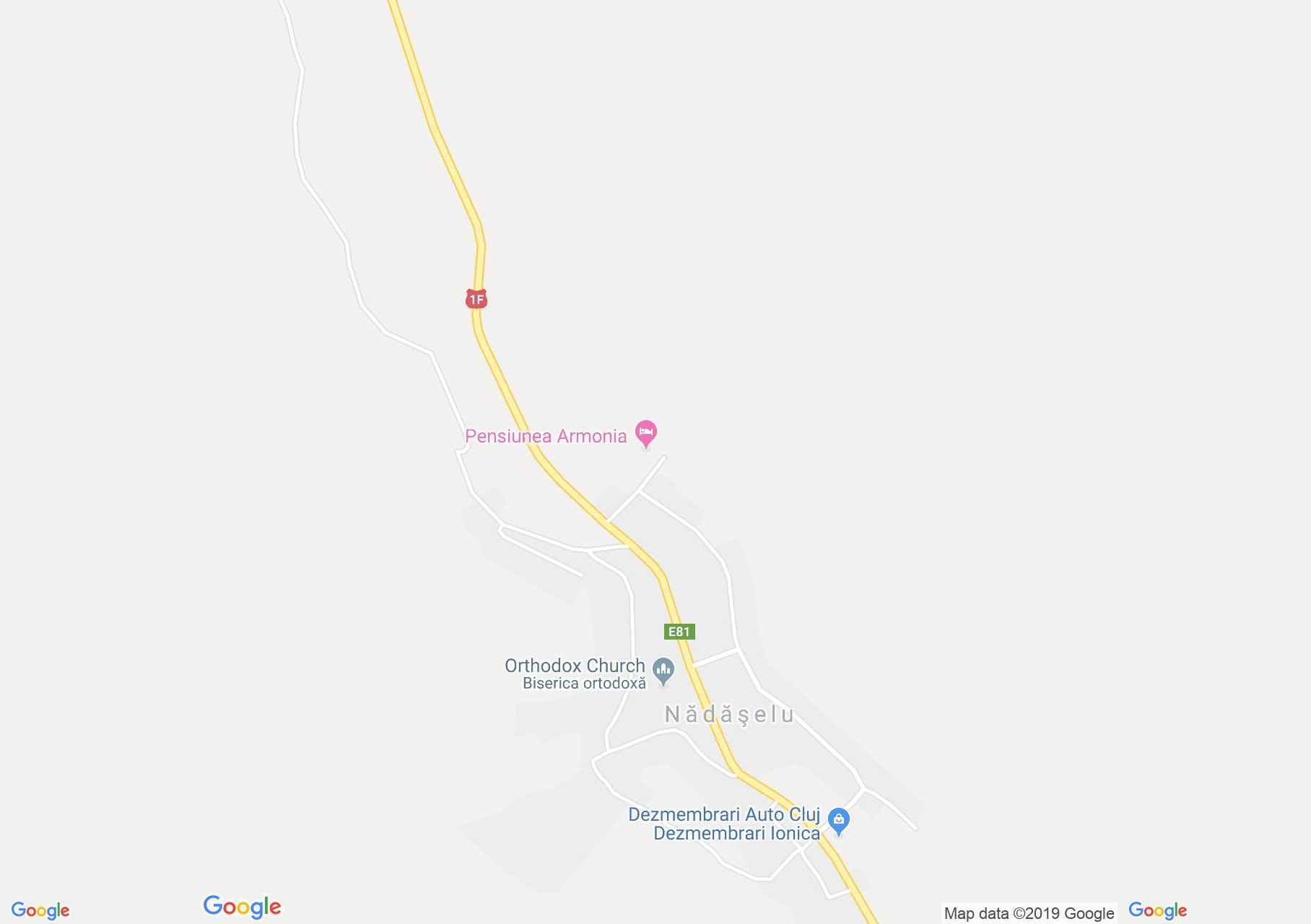 Magyarnádas: Lészai kúria (térkép)