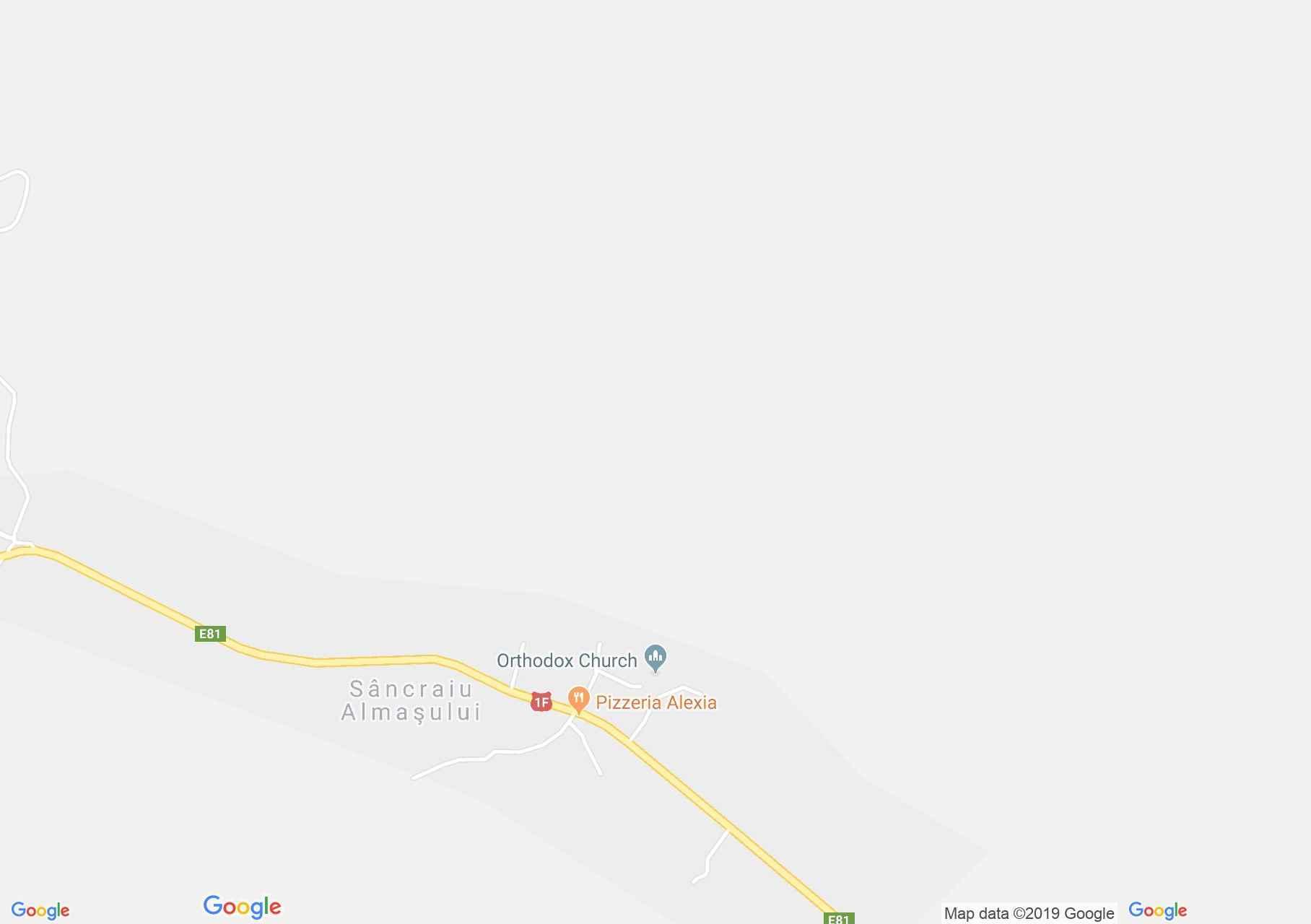 Hartă Sâncraiu Almaşului: Biserica ortodoxă