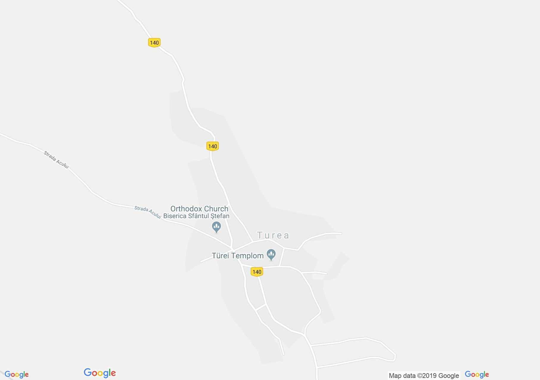 Hartă Turea: Conacul Bánffy