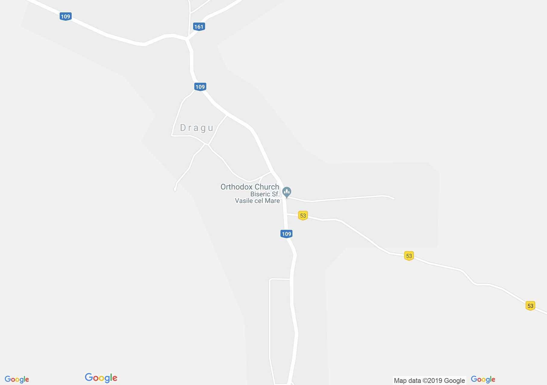 Drág: Wesselényi-Bethlen kastély (térkép)