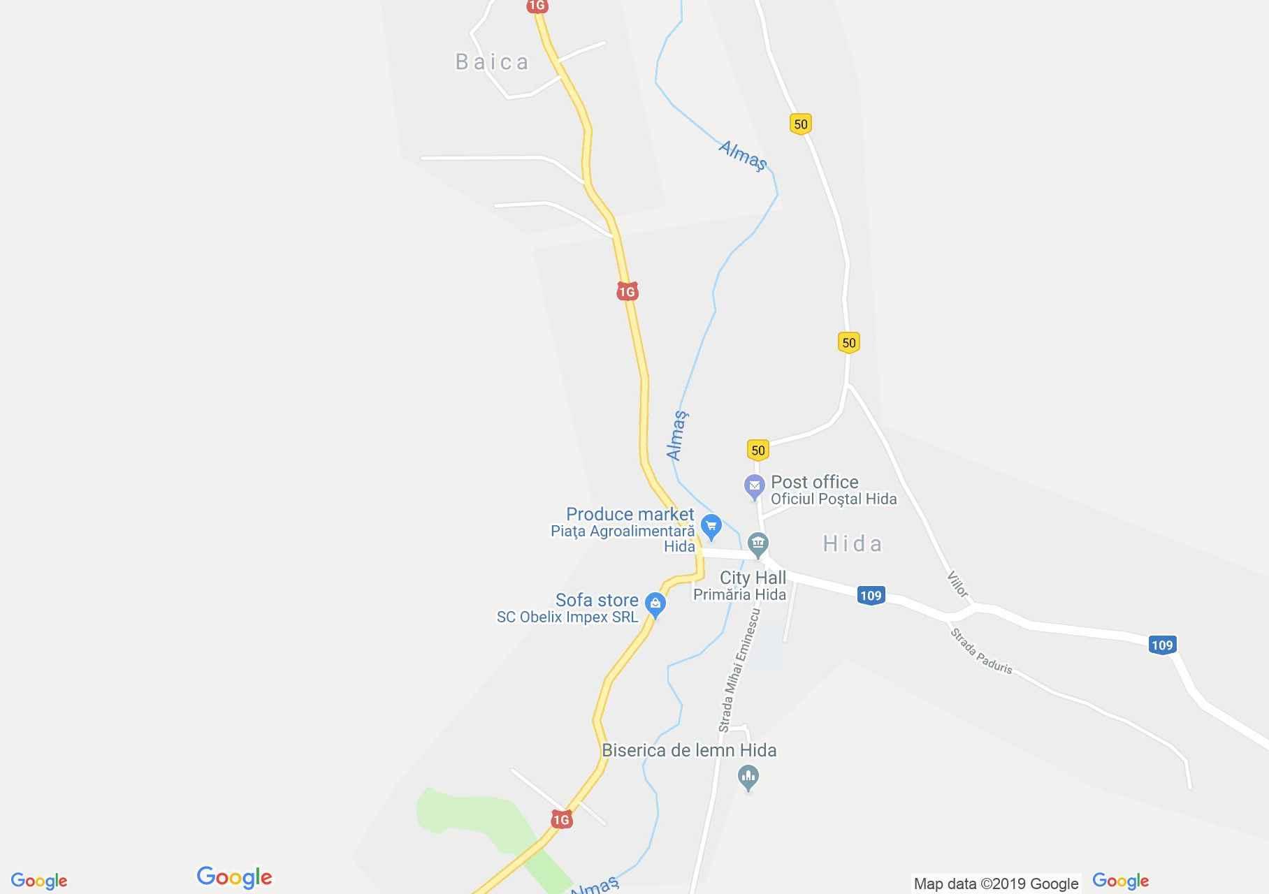 Hida (térkép)