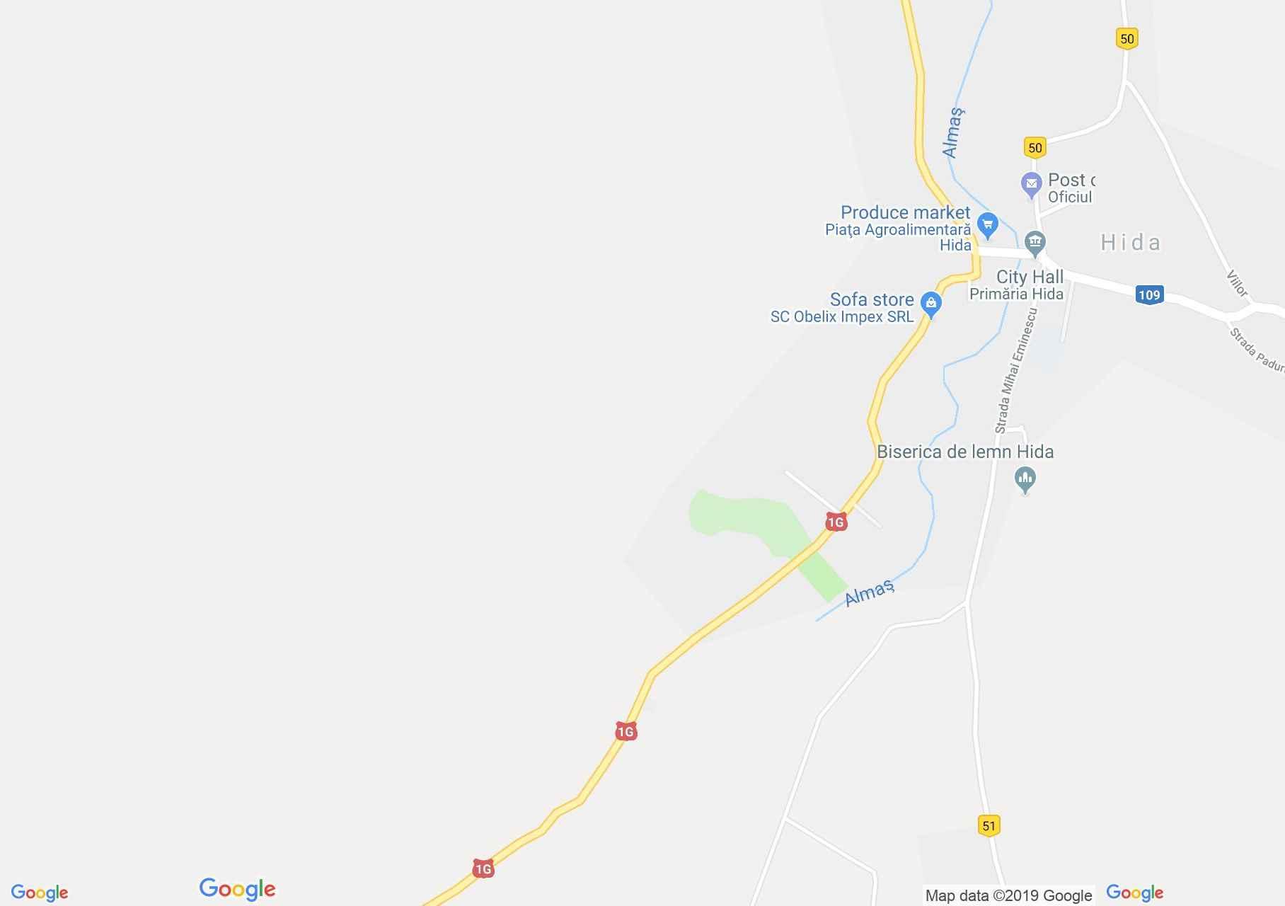 Hida: Ördögszikla (térkép)