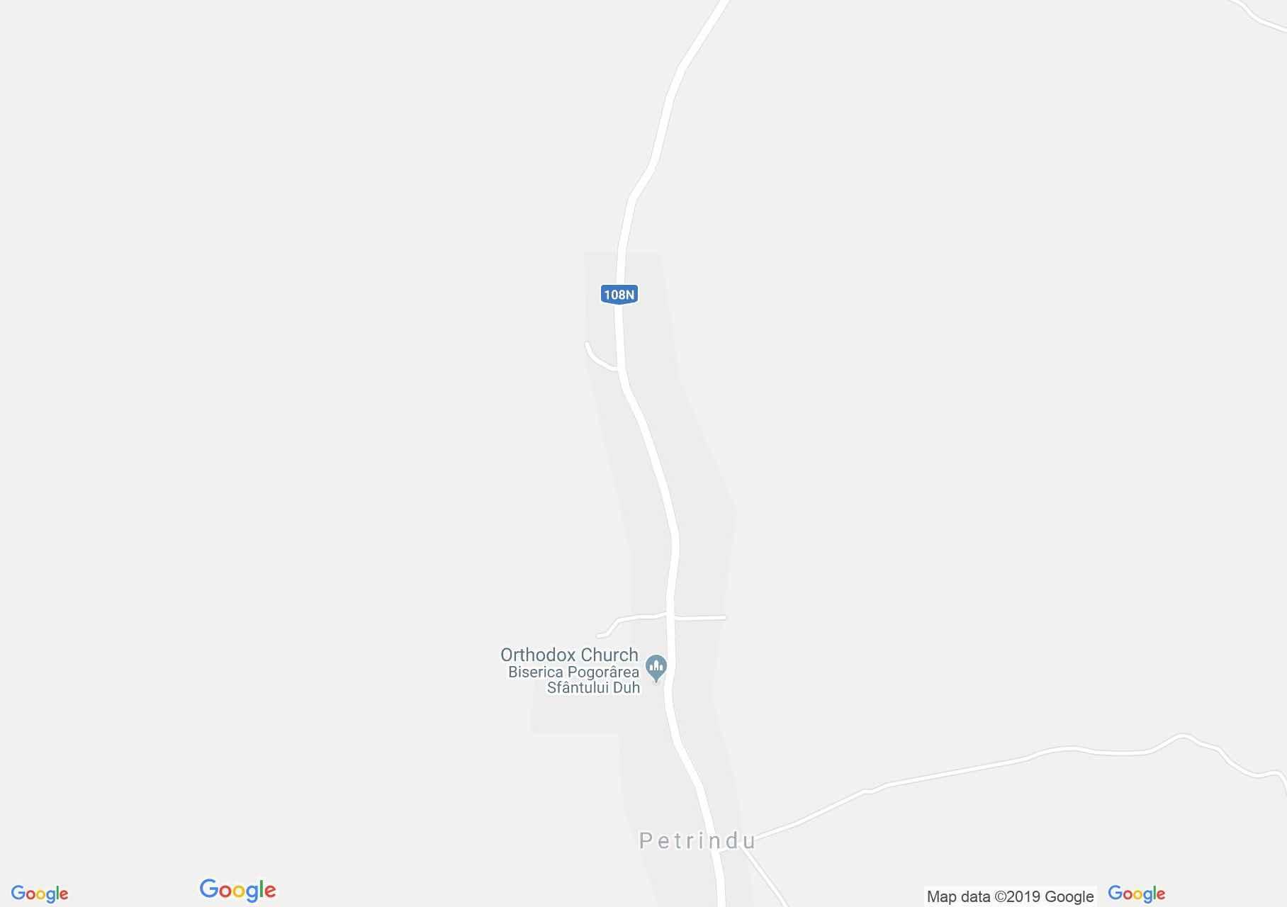 Nagypetri: Református templom (térkép)