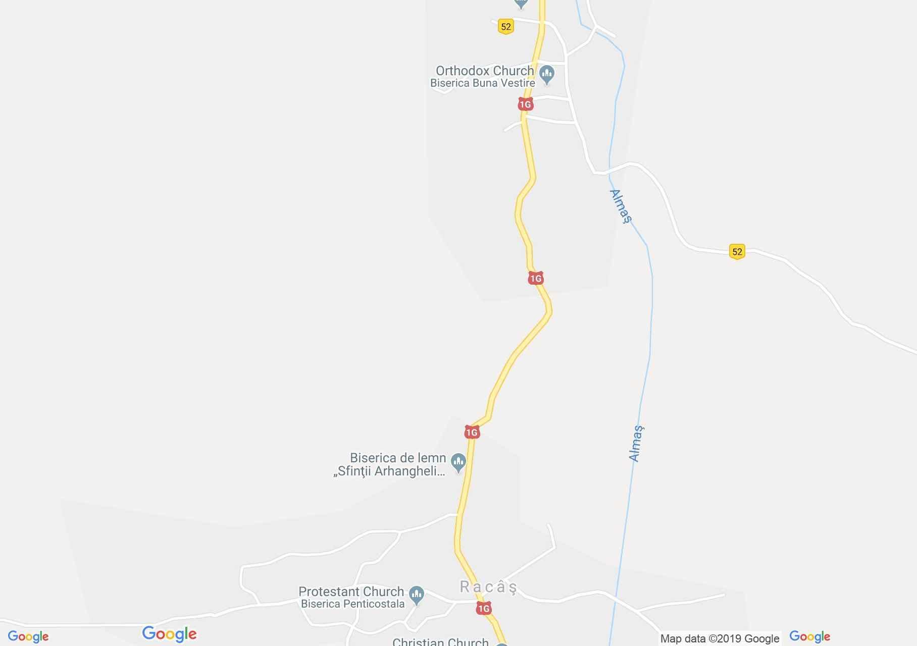 Almásrákos: Fatemplom (térkép)