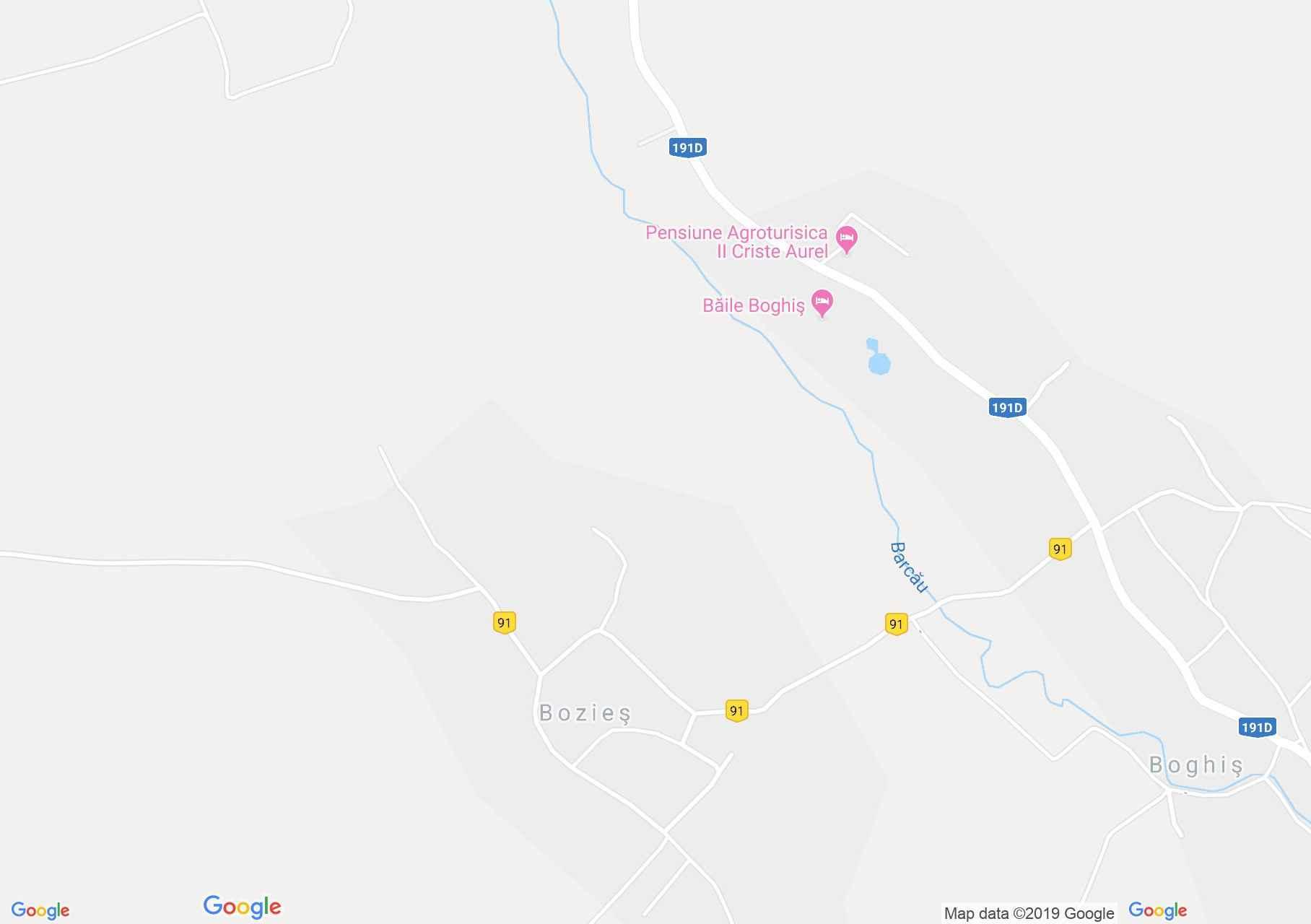 Szilágyborzás: Református templom (térkép)