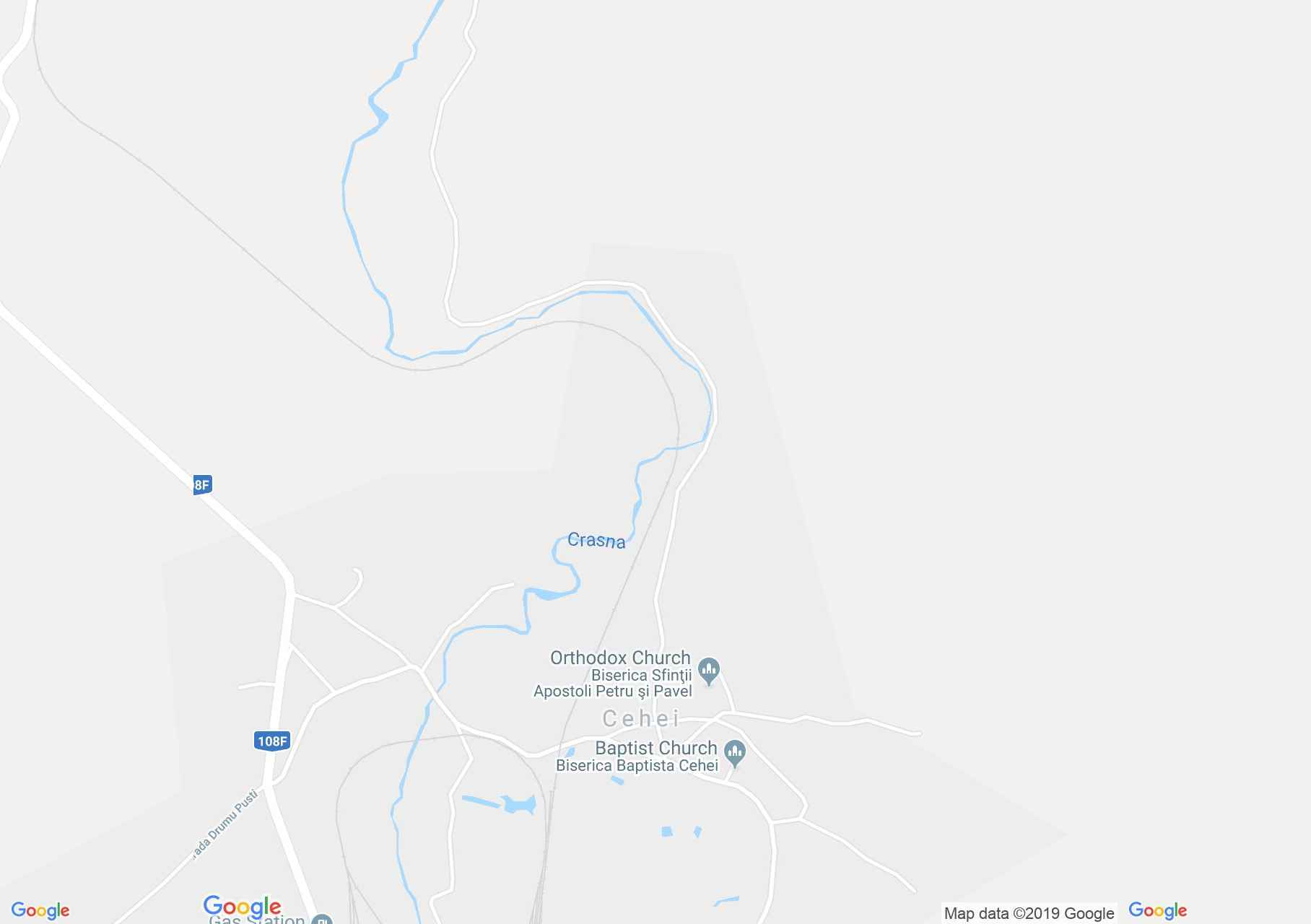 Map of Cehei