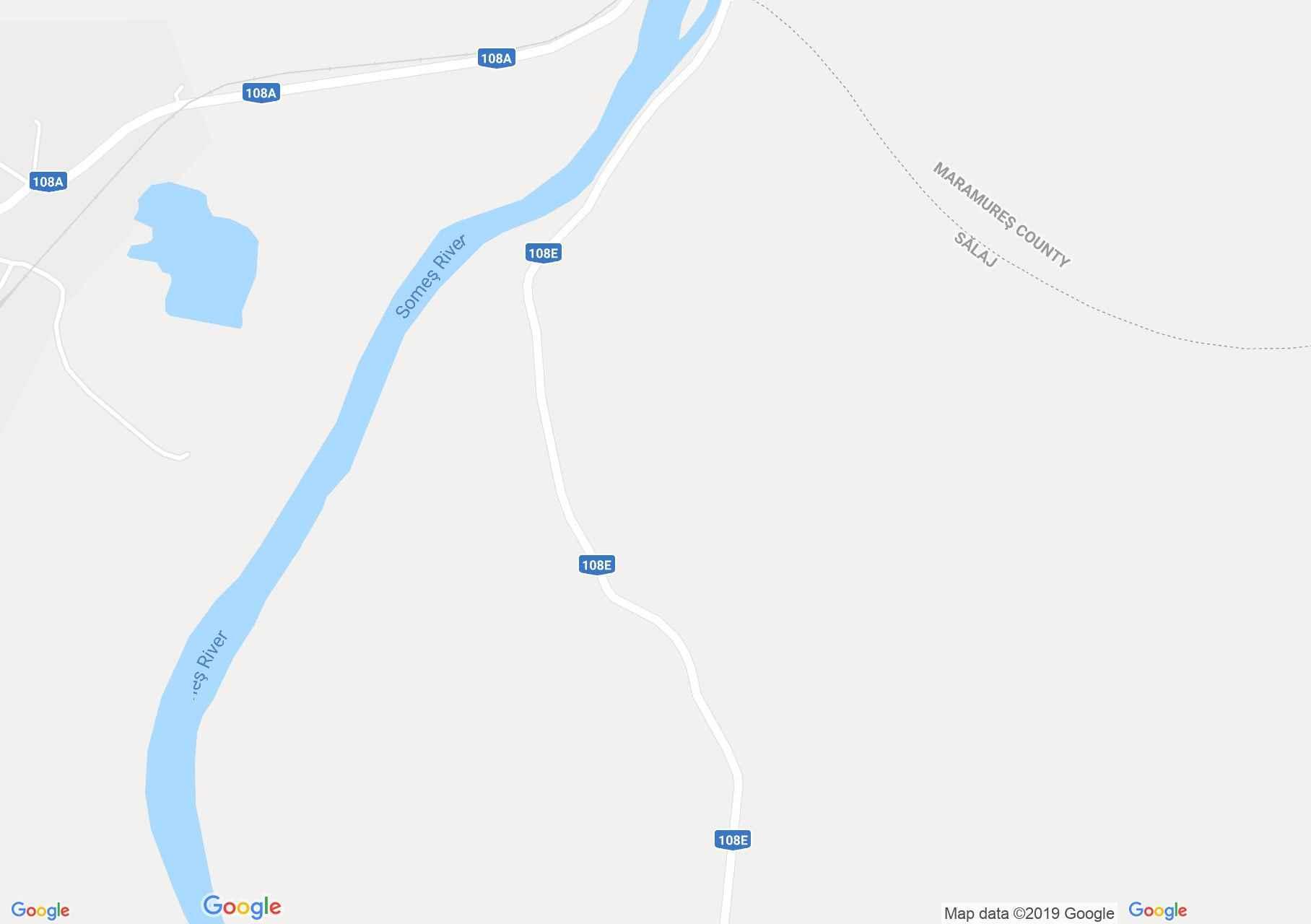 Hartă Cheud: Manastirea benedictină