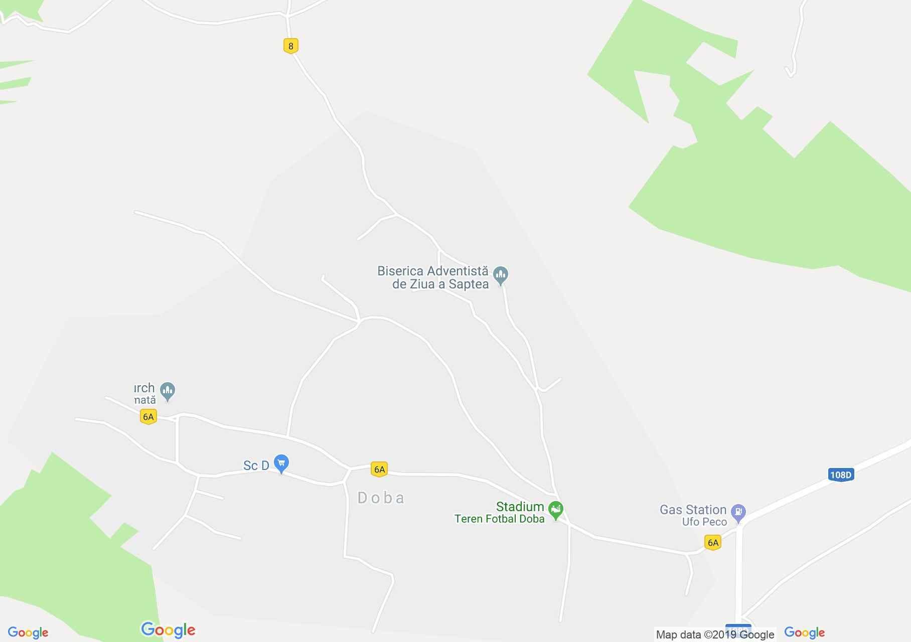 Doba (térkép)