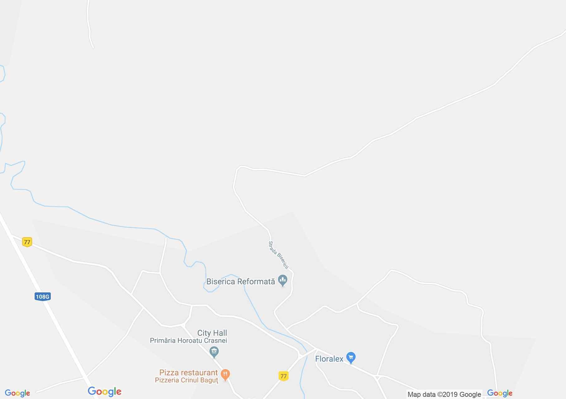 Krasznahorvát: Református templom (térkép)