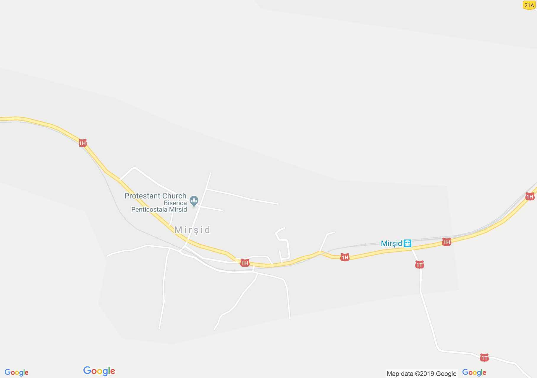 Nyirsid: Ortodox templom (térkép)