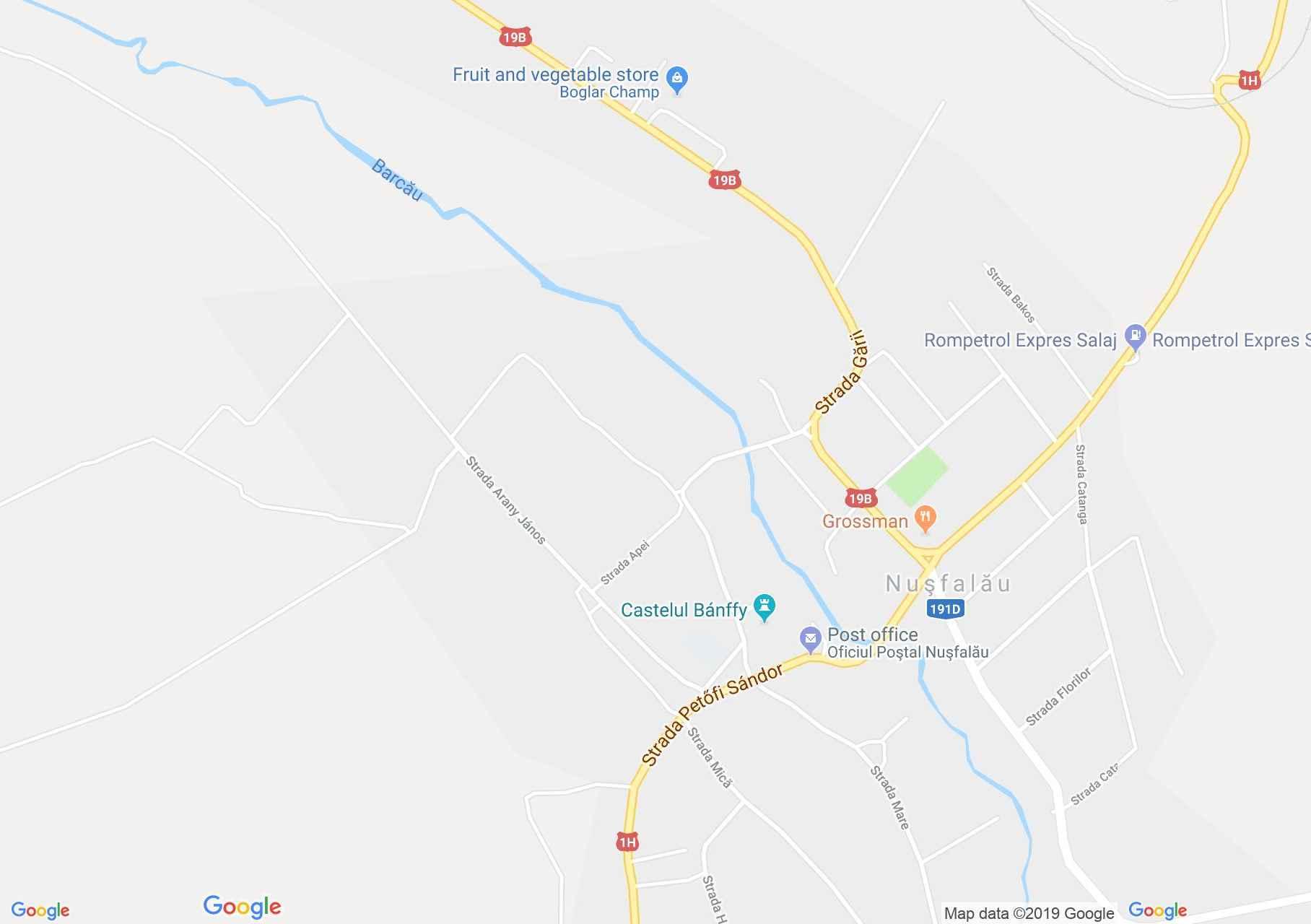 Szilágynagyfalu: Vásártér (térkép)