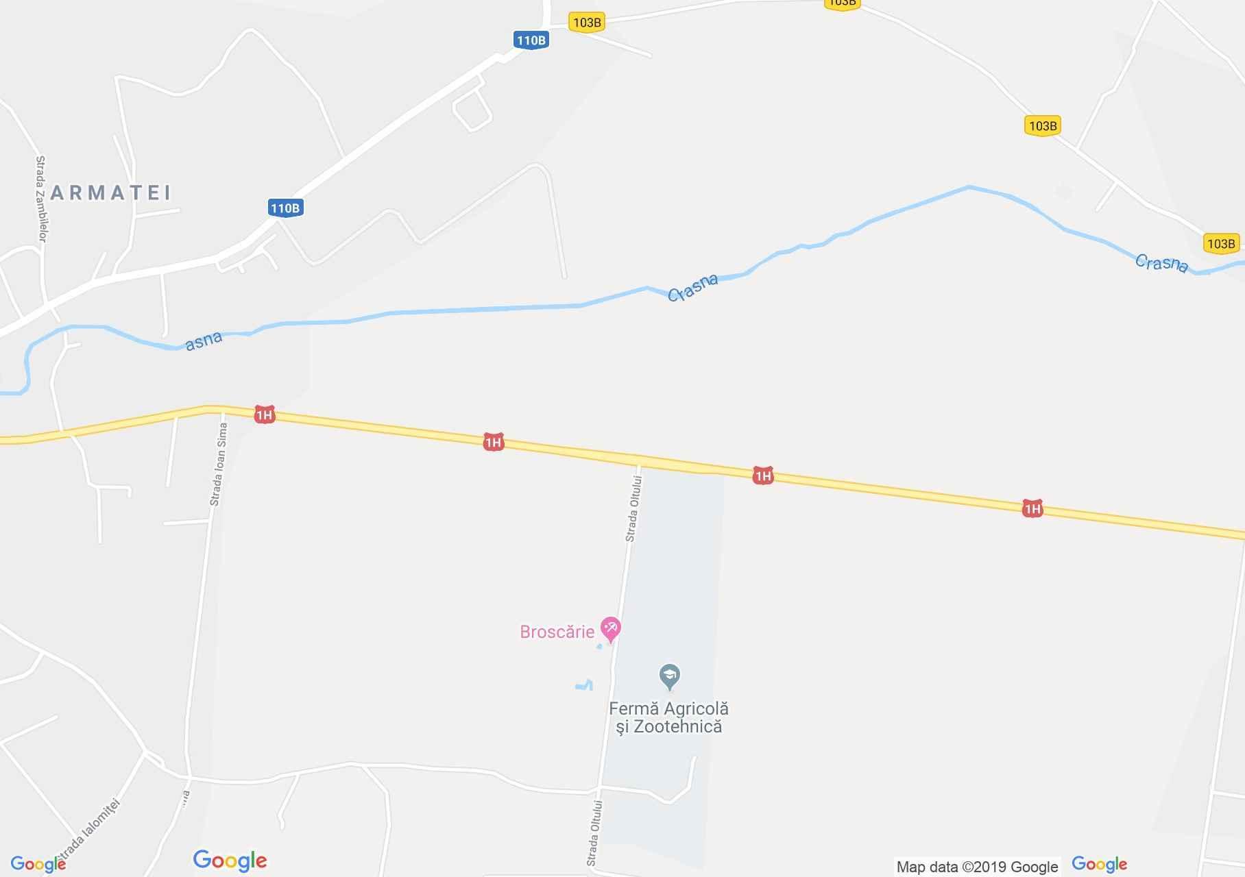 Perecseny: Broscărie termálfürdő (térkép)