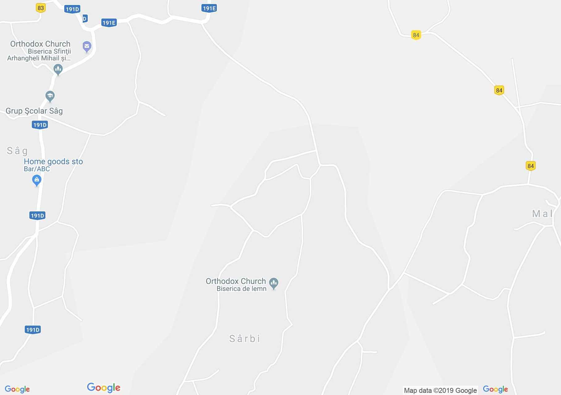 Krasznatótfalu: Fatemplom (térkép)
