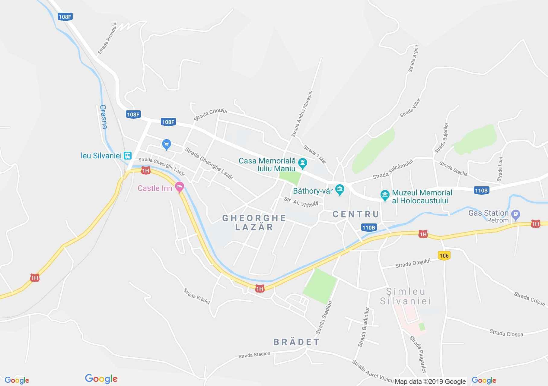 Szilágysomlyó (térkép)