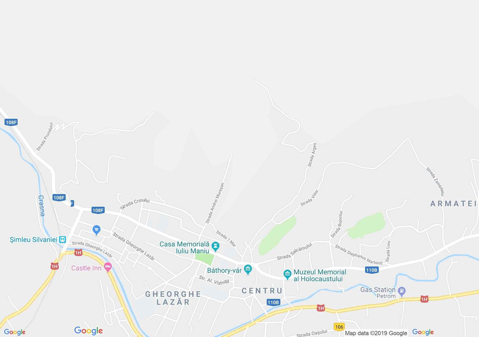 Szilágysomlyó: Katolikus templom (térkép)