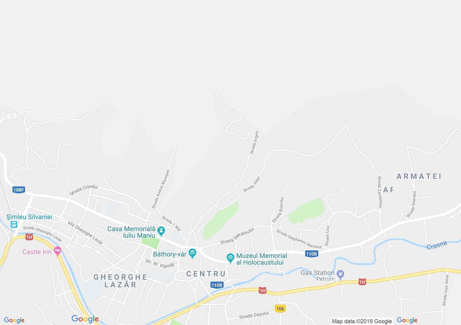 Szilágysomlyó: Református templom (térkép)