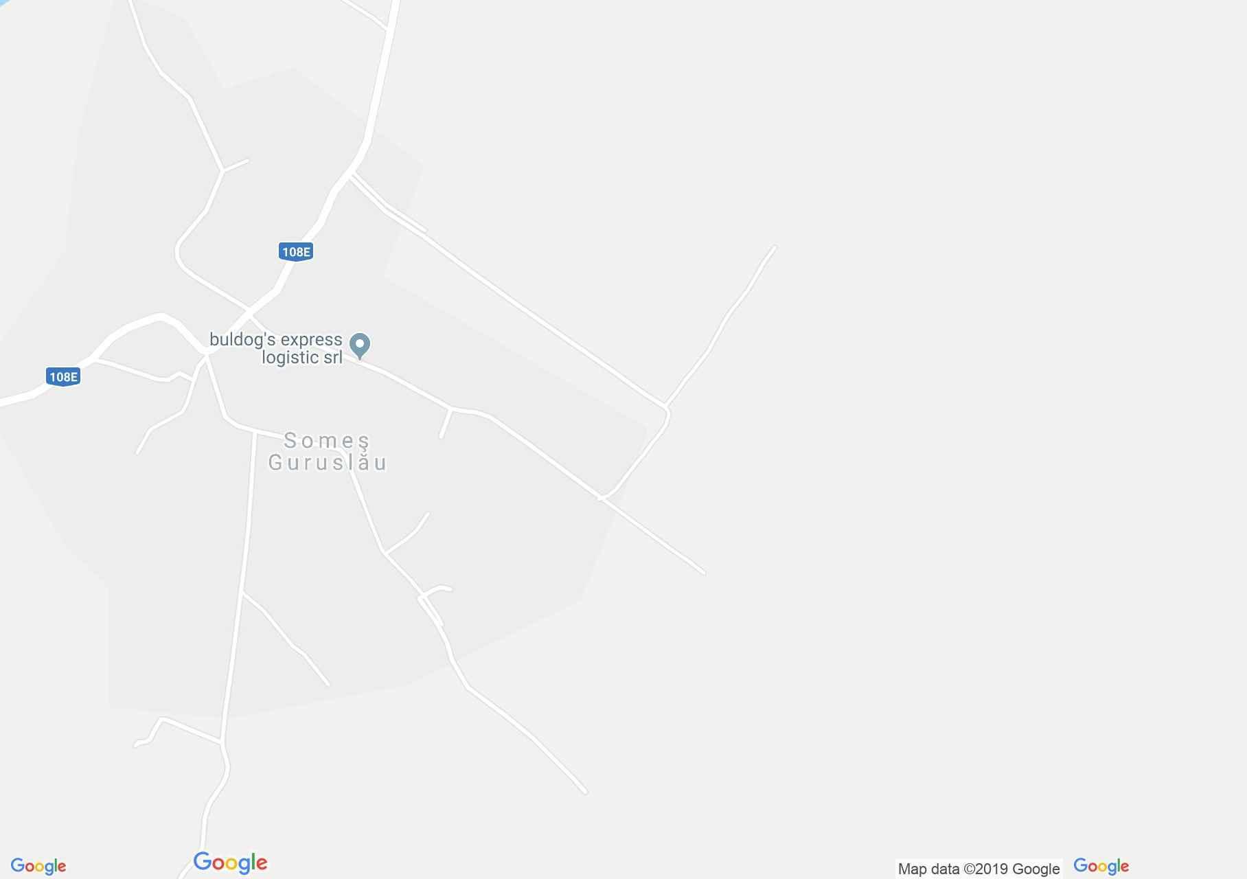 Hartă Someş-Guruslău: Arboretul de castan