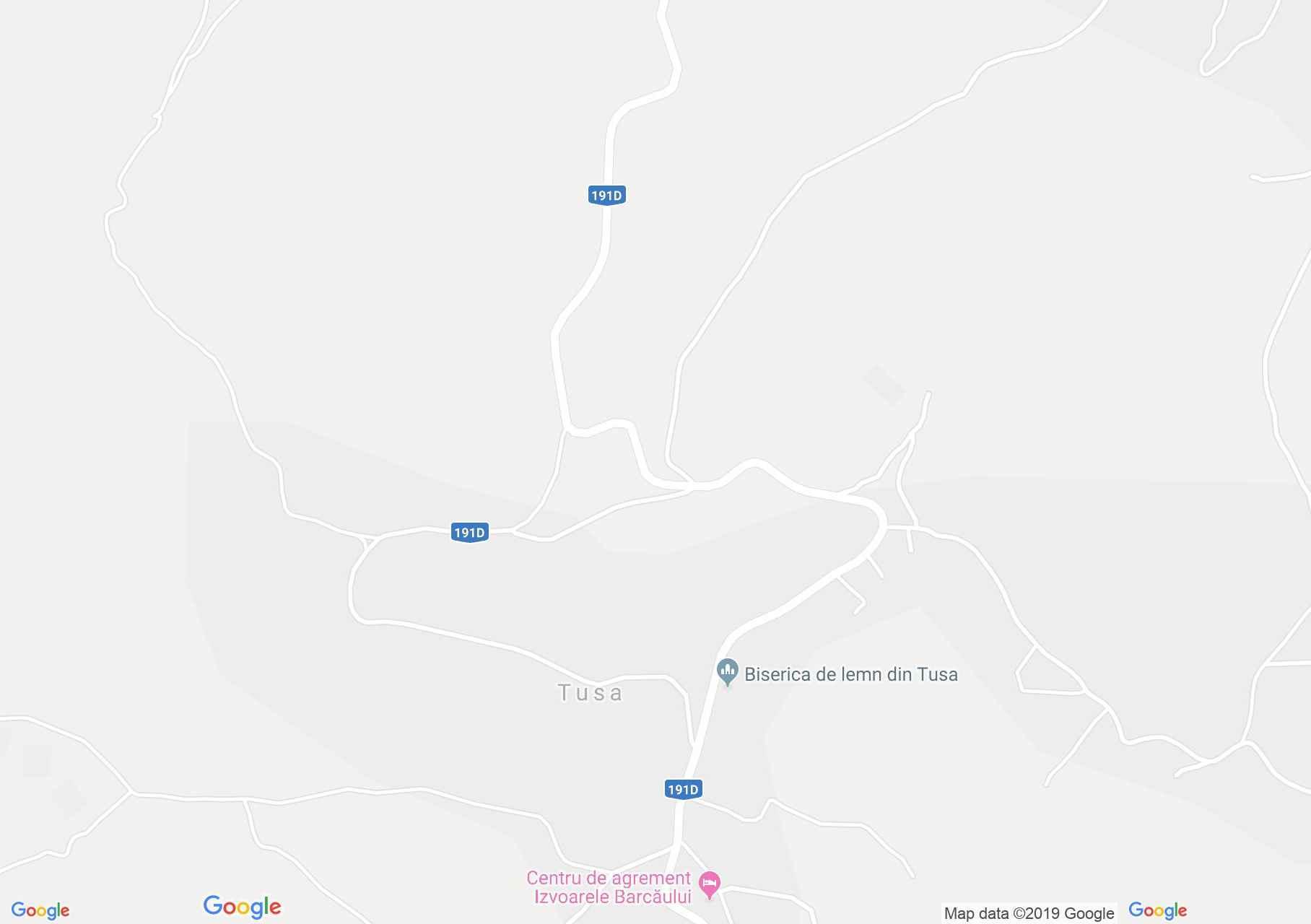 Tuszatelke: Vizimalom (térkép)