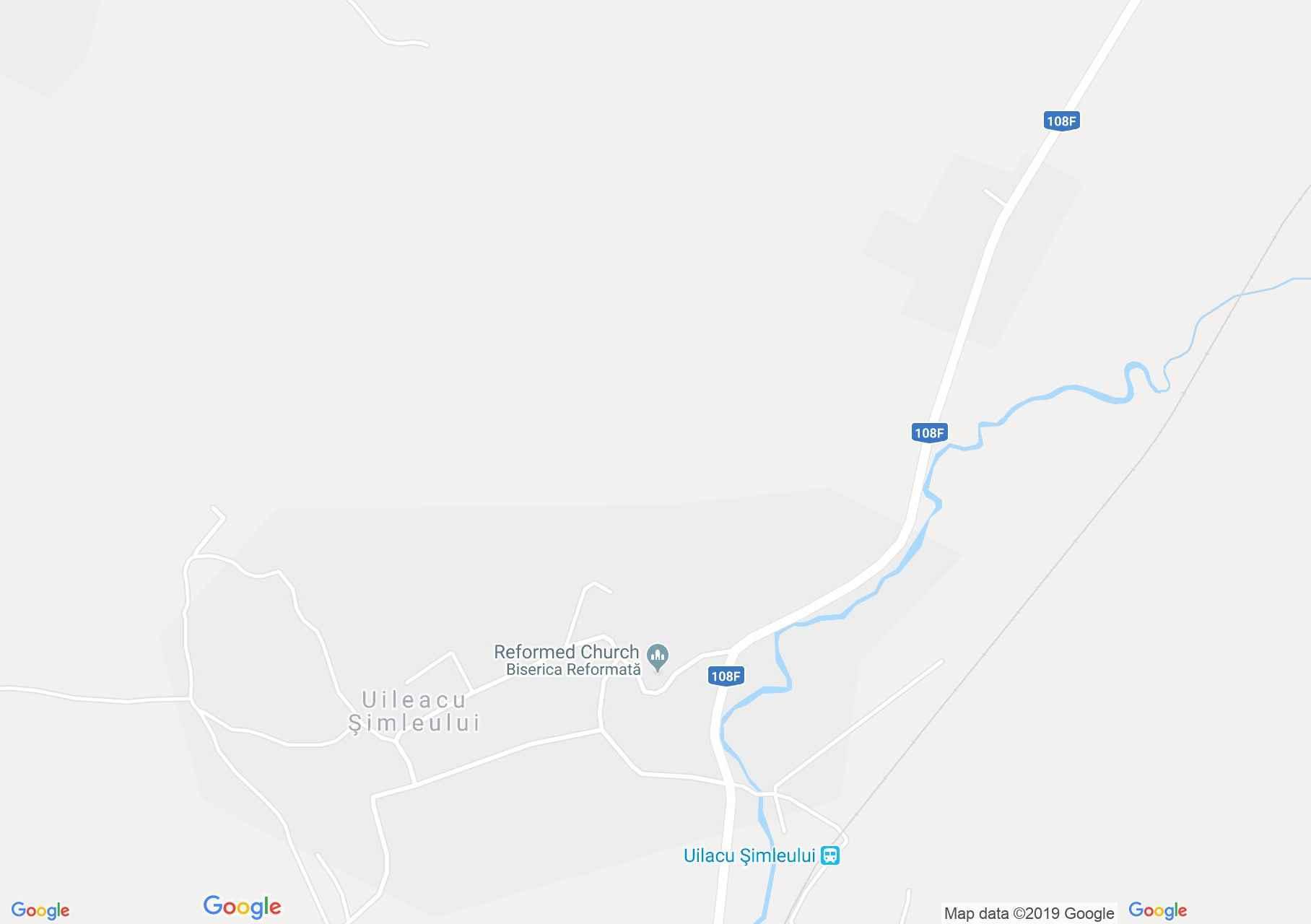 Somlyóújlak: Református templom (térkép)
