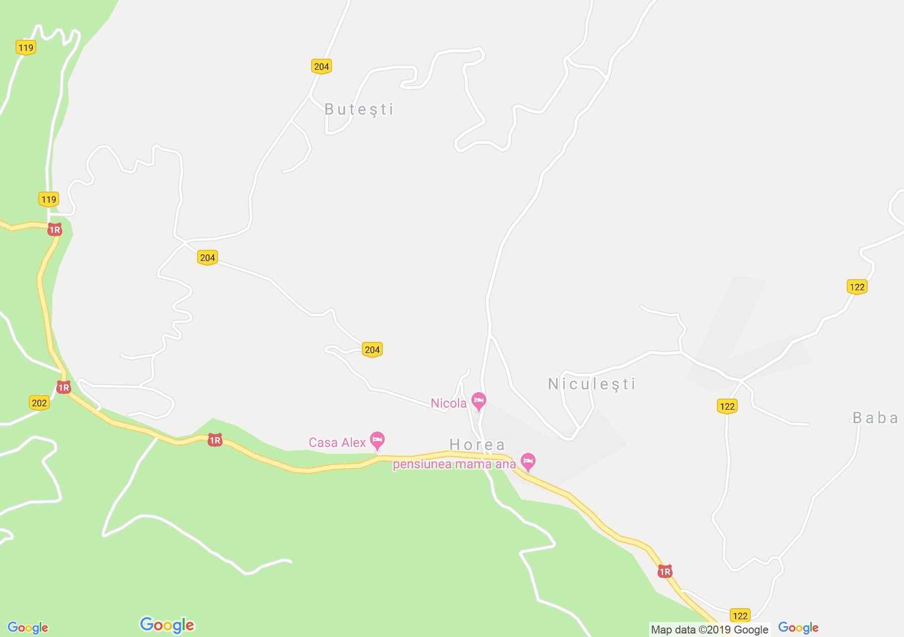 Horea: Népművészeti múzeum (térkép)
