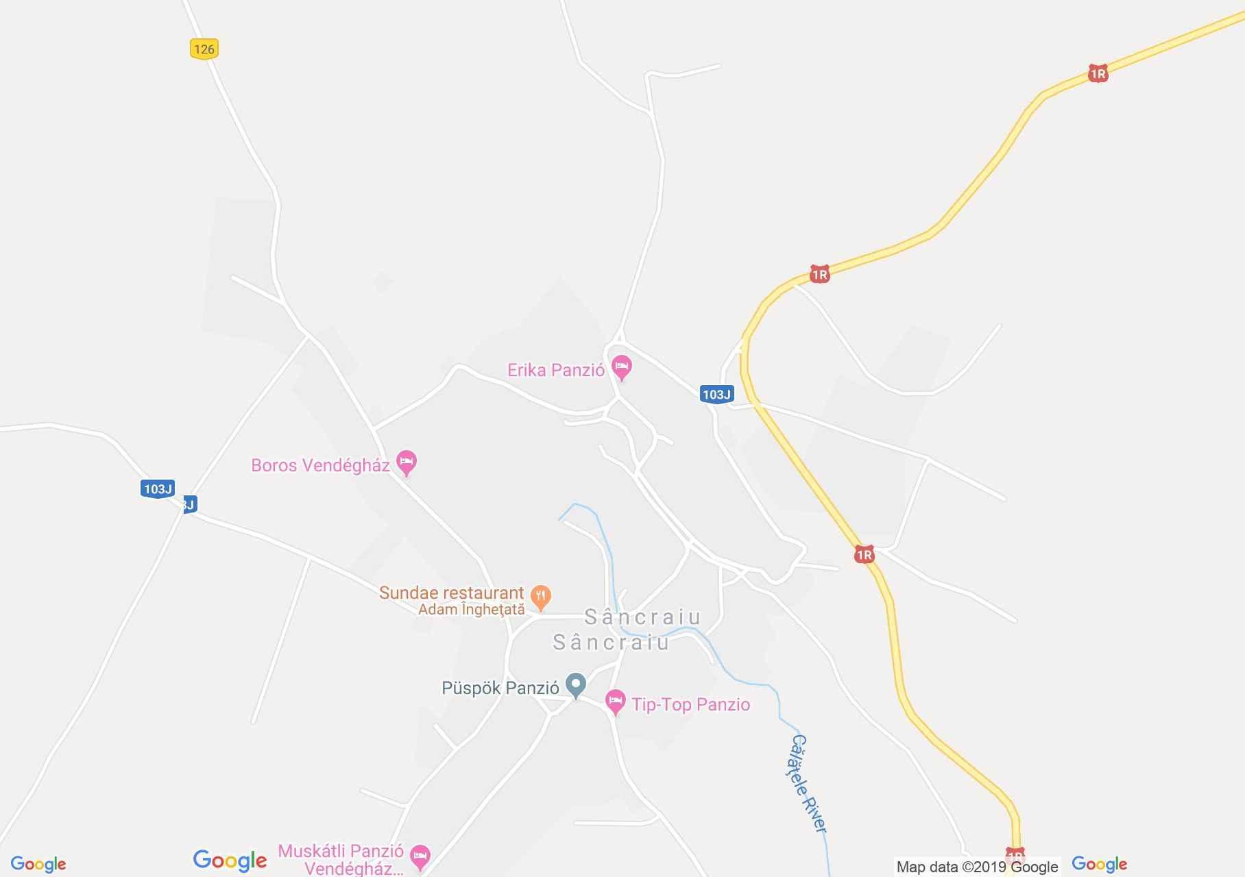 Hartă Sâncraiu