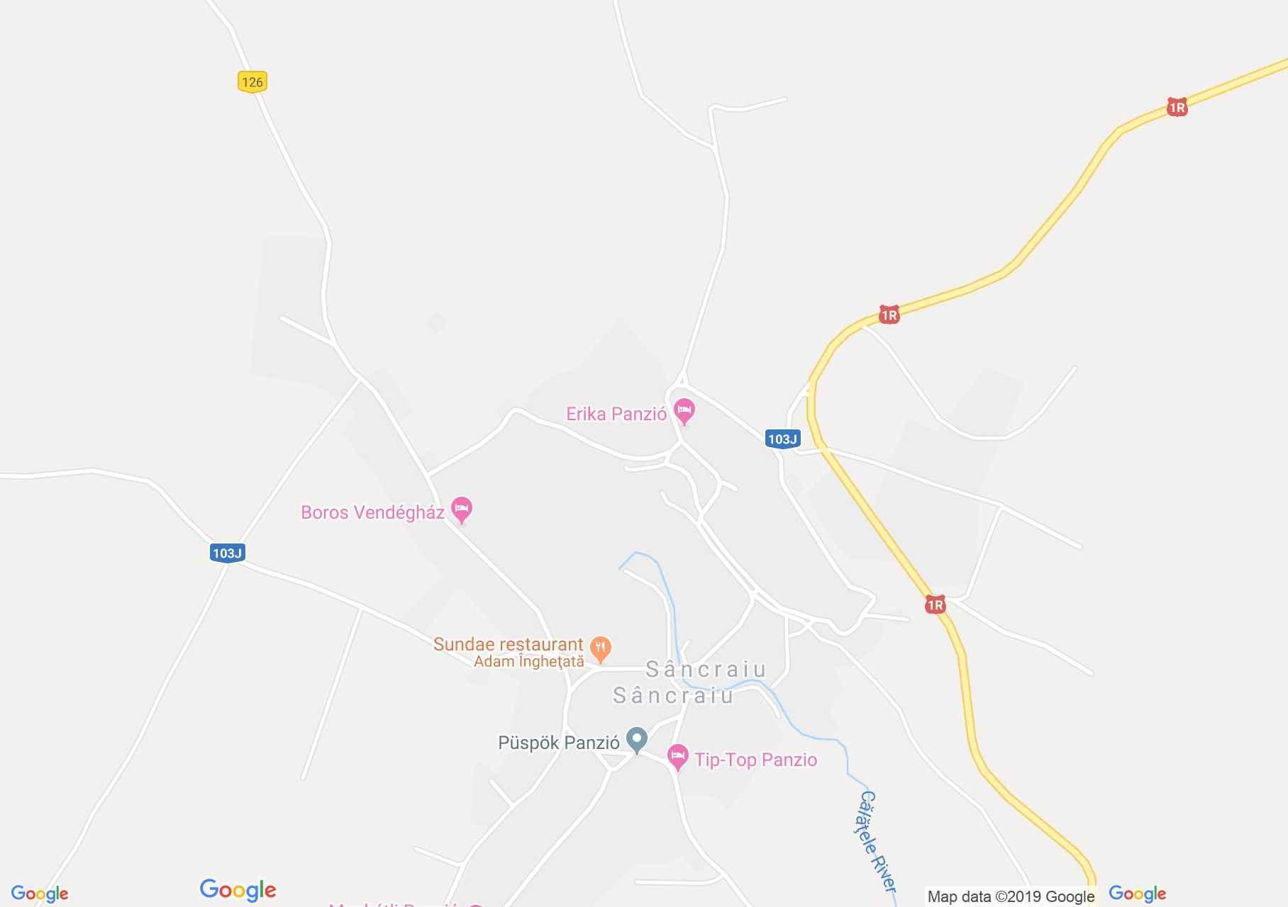 Hartă Sâncraiu: Muzeul particular Vincze-Kecskés