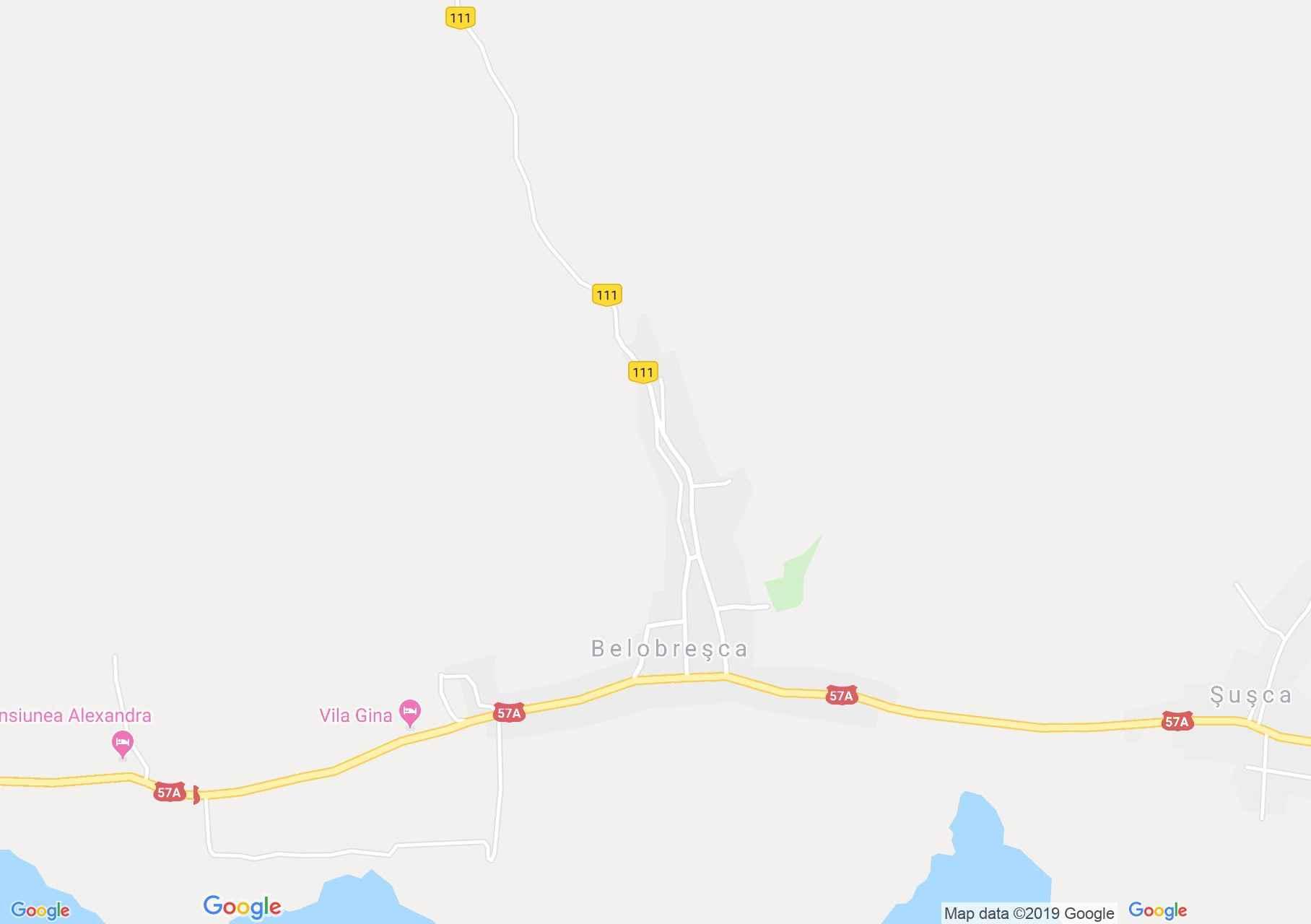 Fejérdomb: Szerb templom (térkép)