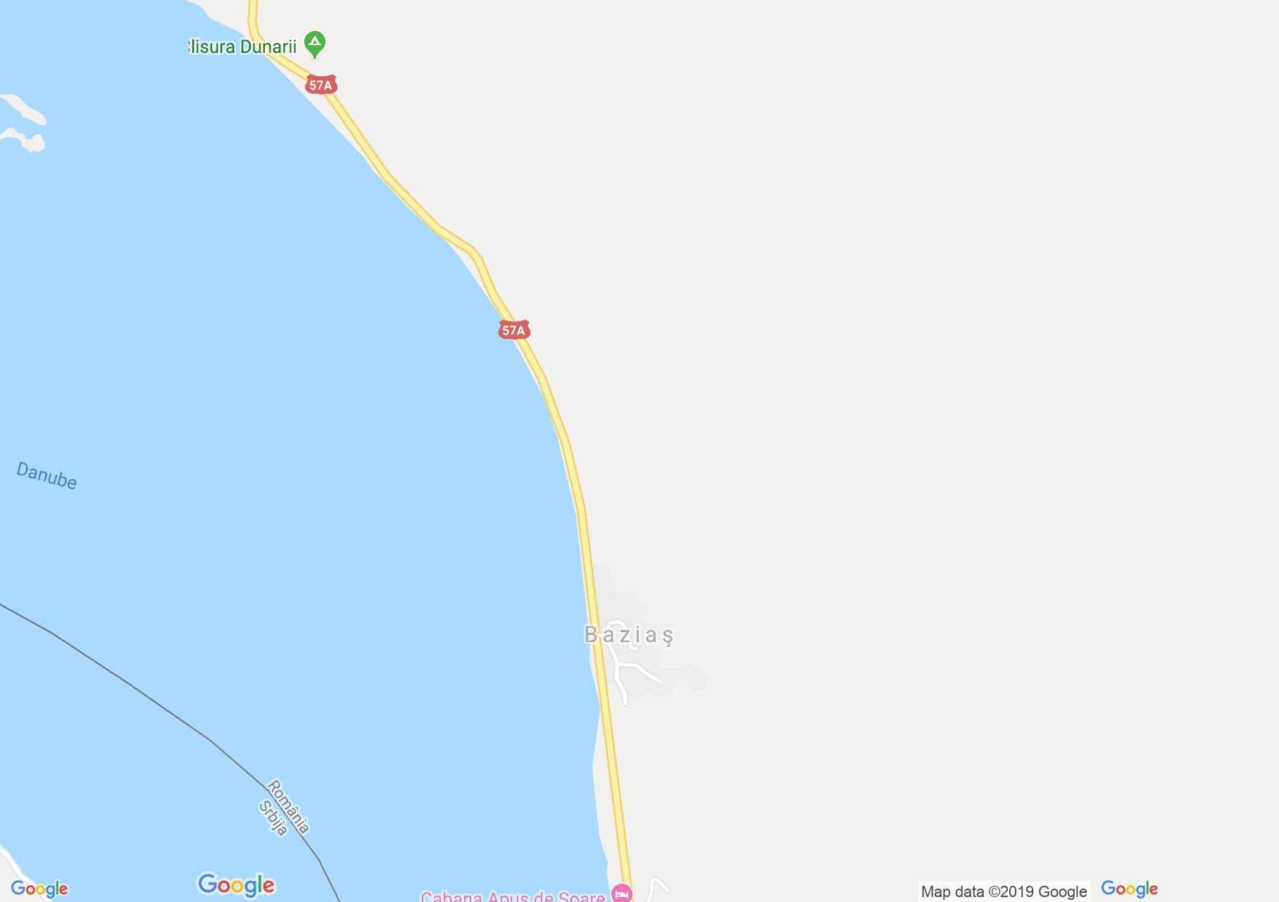 Báziás: Báziás kolostor (térkép)