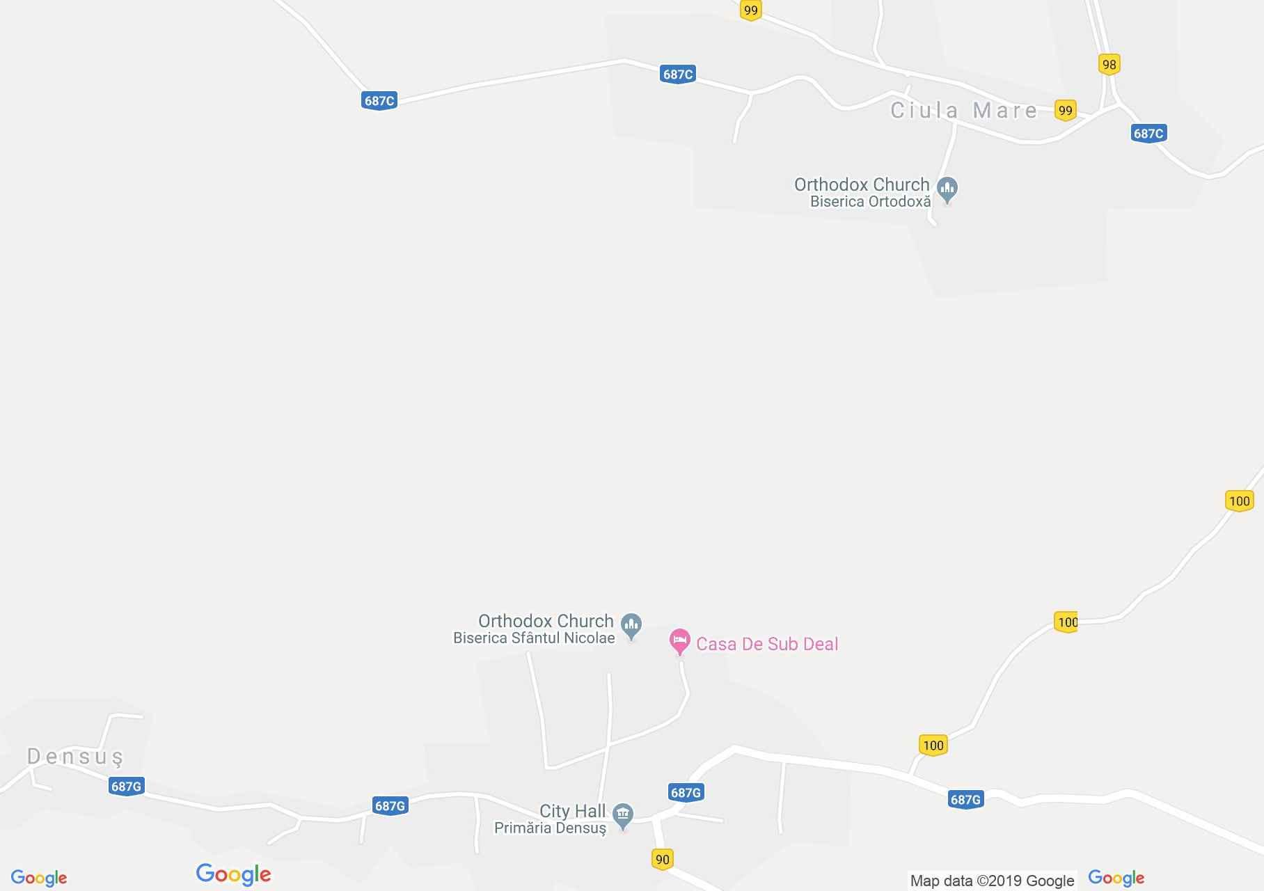 Demsus: Demsusi templom (térkép)