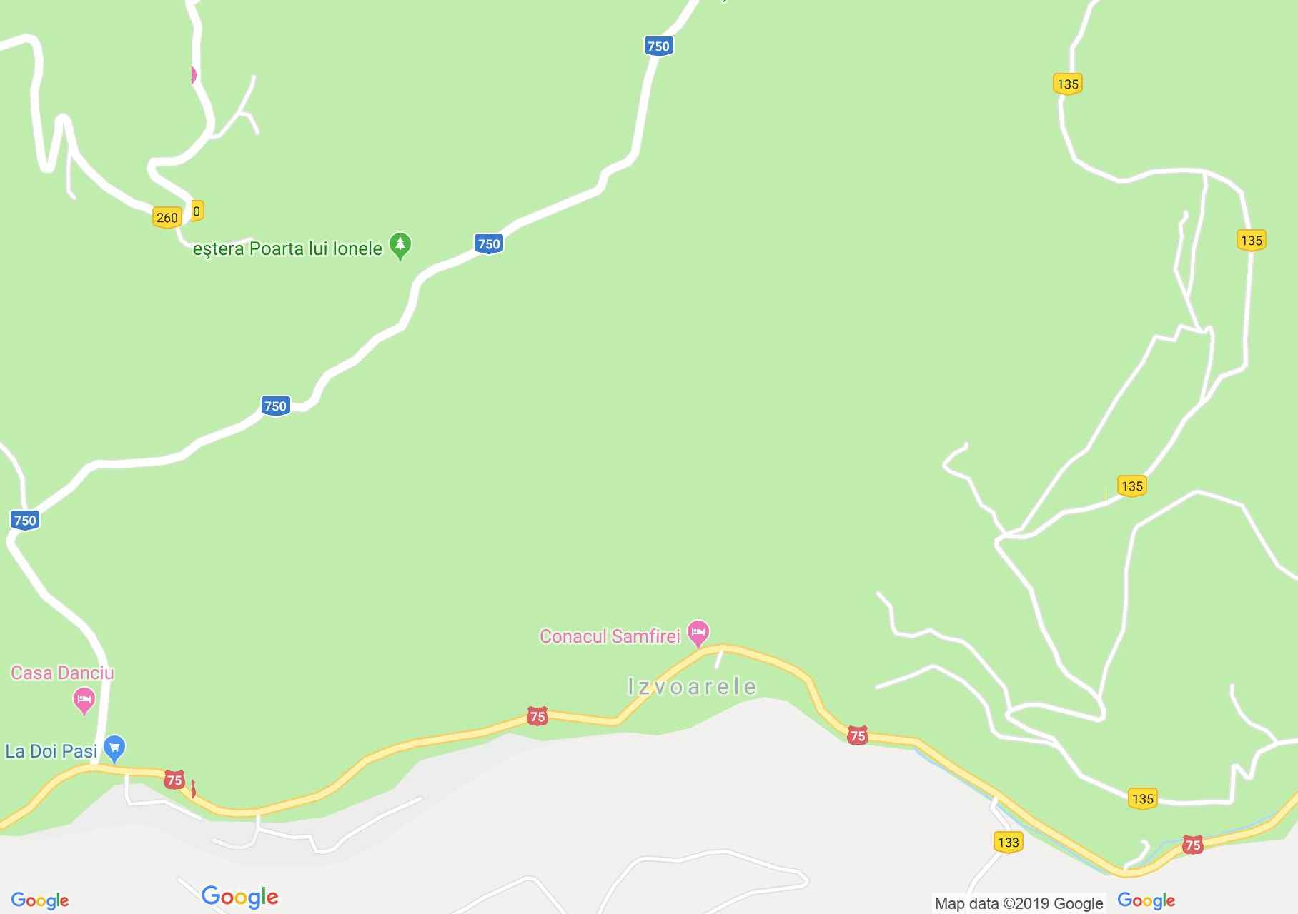 Felsőgírda: Lia Panzió (térkép)