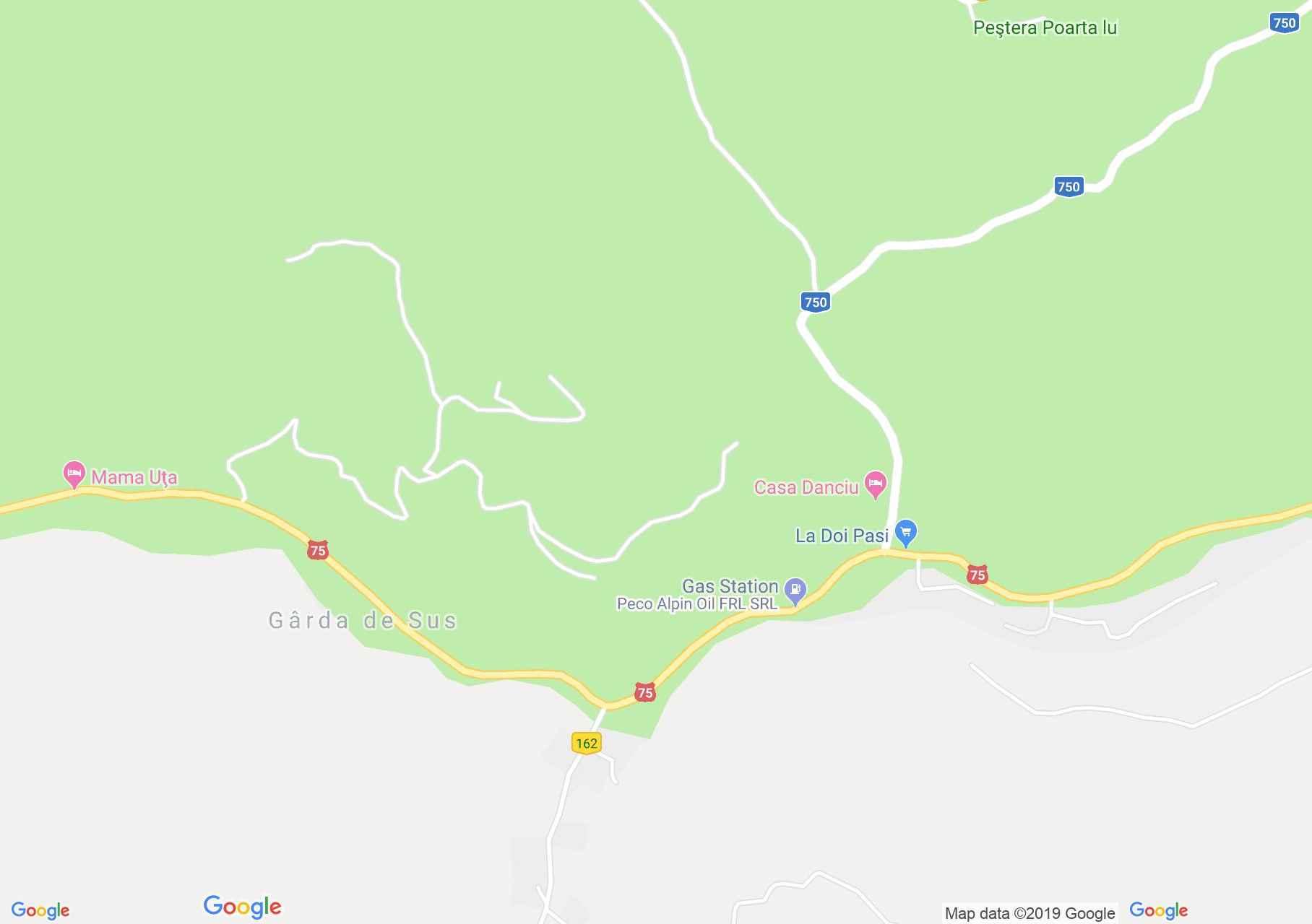 Felsőgírda: Marydor Panzió (térkép)