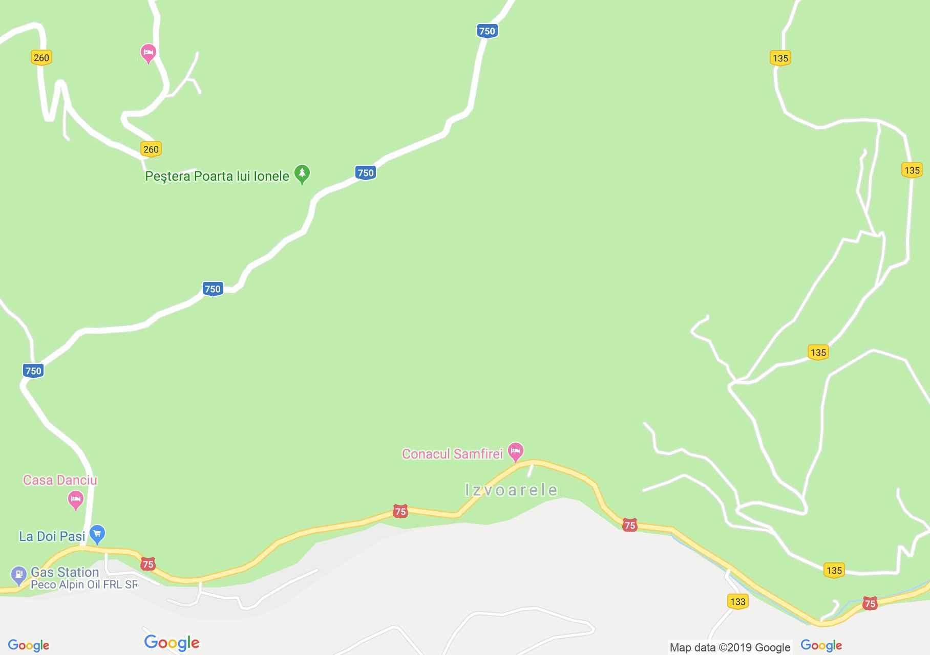 Felsőgírda: Tulnicu Panzió (térkép)