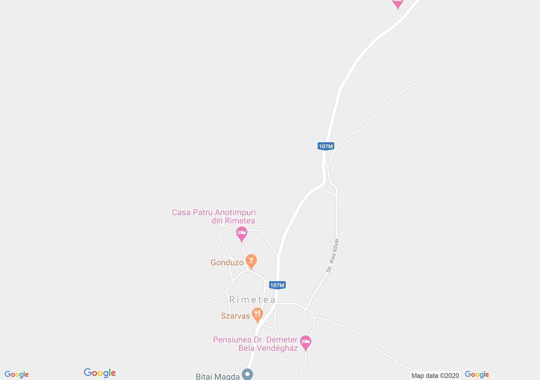 Torockó: Orsolya panzió (térkép)