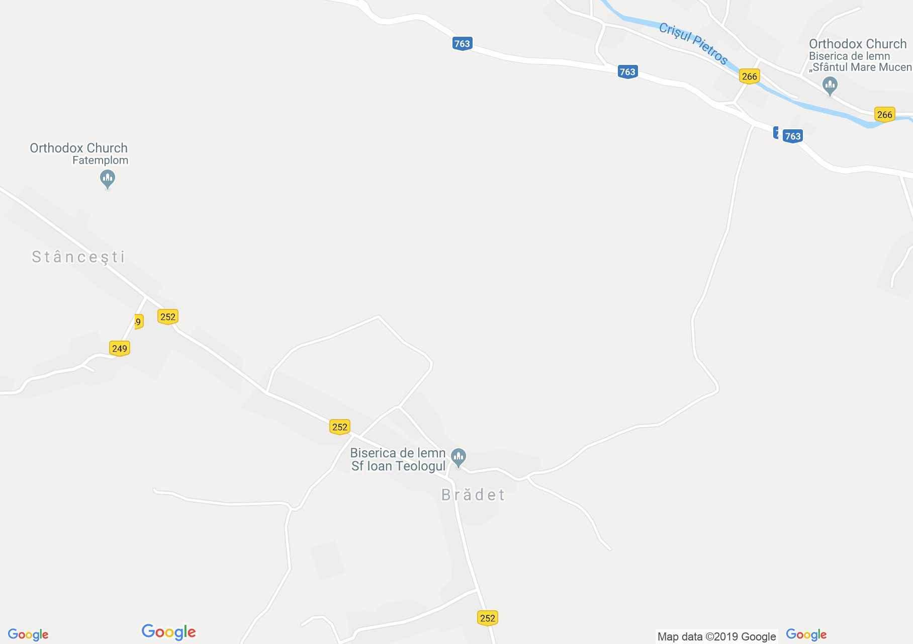 Biharfenyves: Fatemplom (térkép)