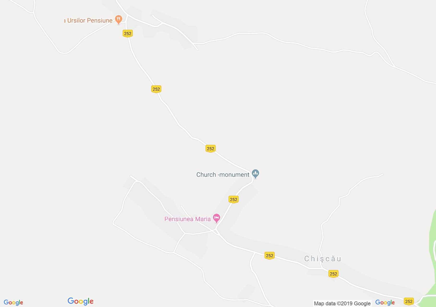 Kiskóh: Maria panzió (térkép)