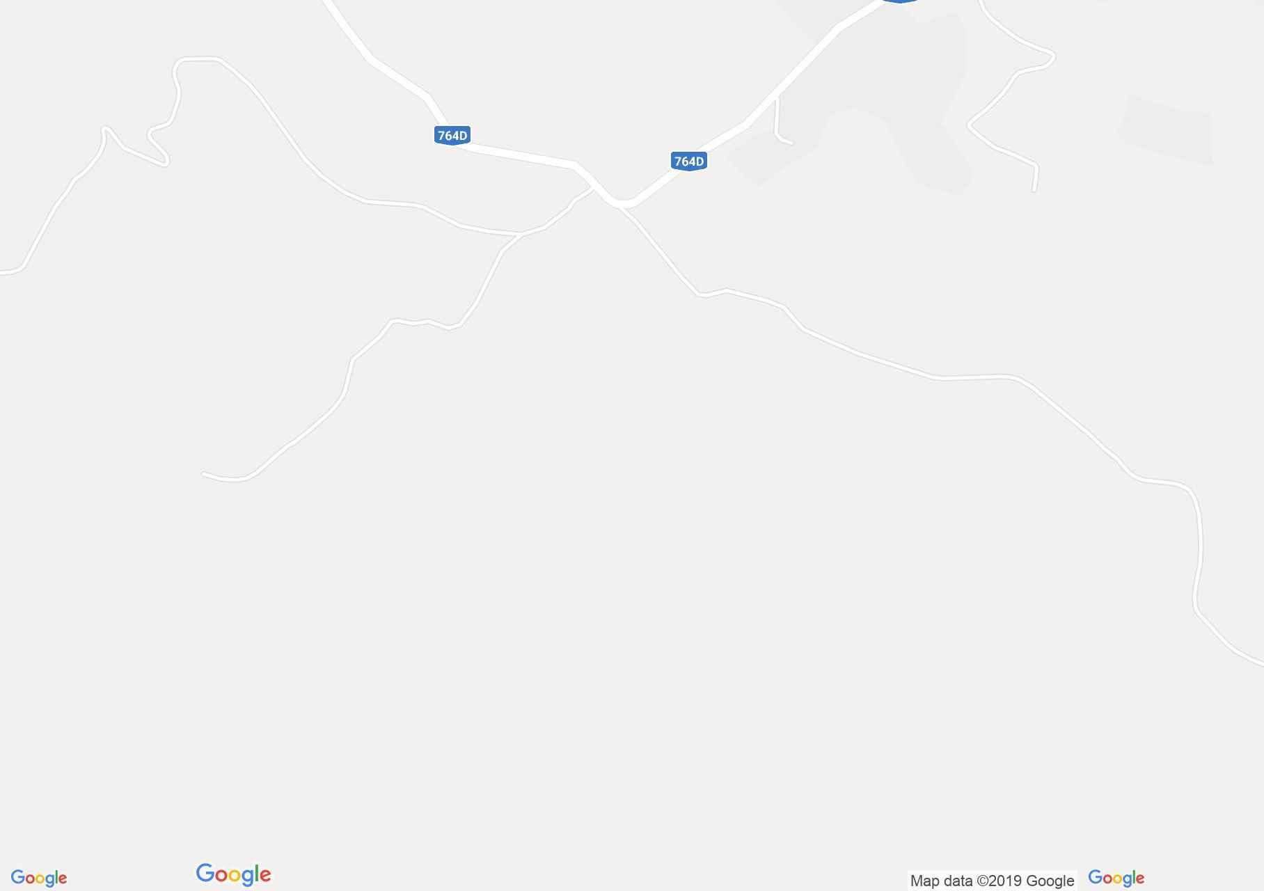 Map of Lazuri gorge: Craiului Cave