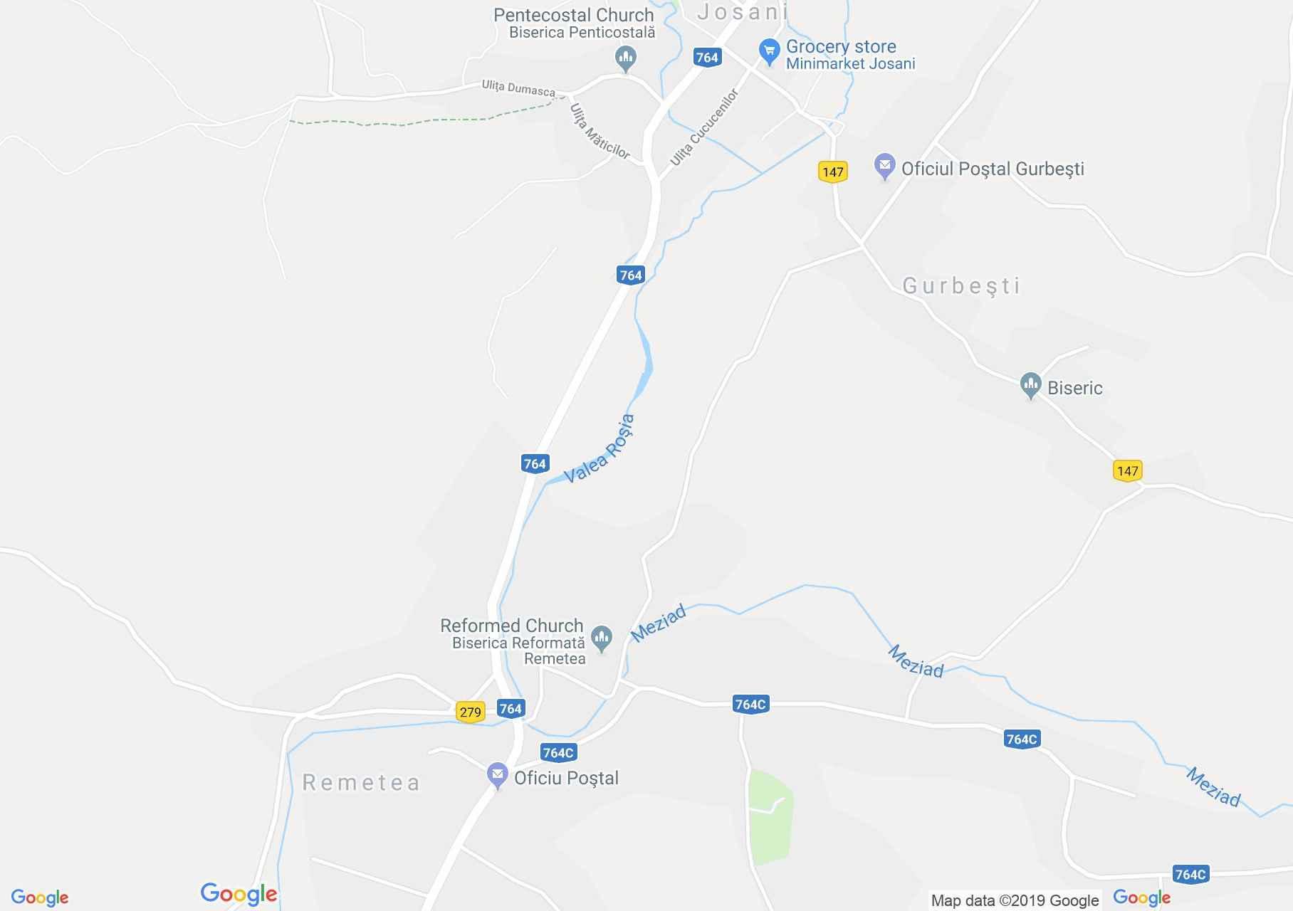 Magyarremete (térkép)