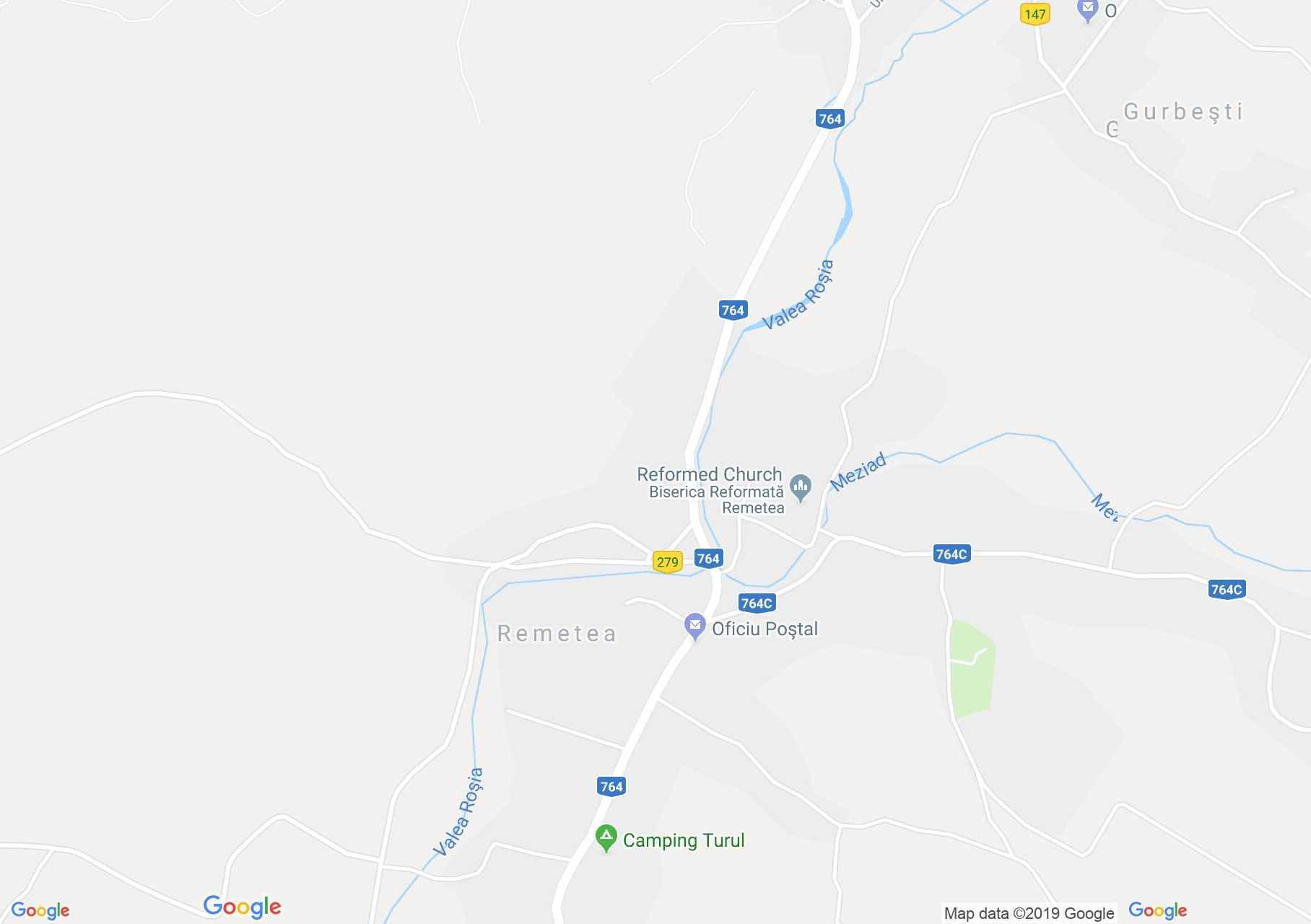 Magyarremete: Turul panzió (térkép)