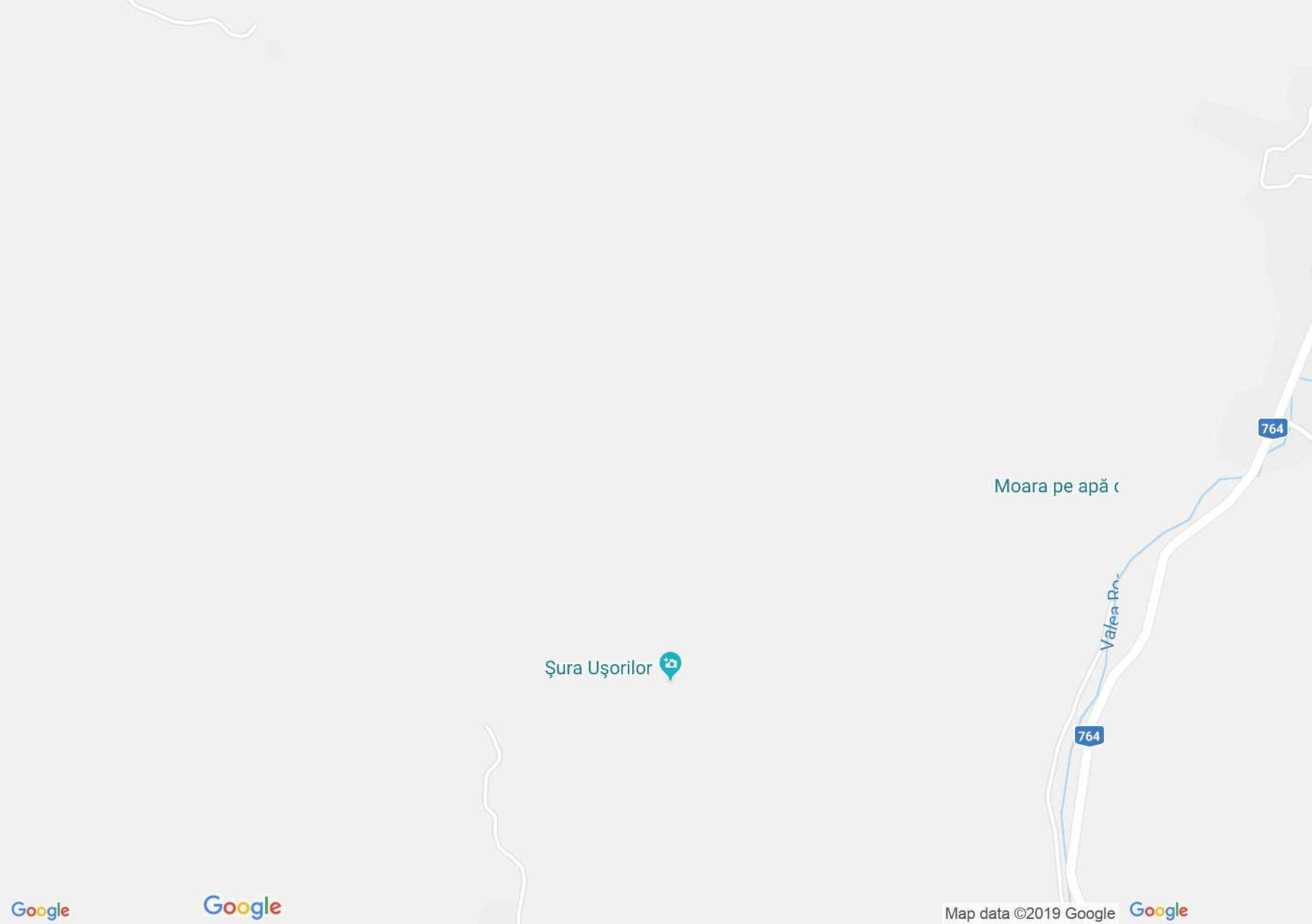 Biharkaba: Şura Uşorilor, Királyerdő (térkép)