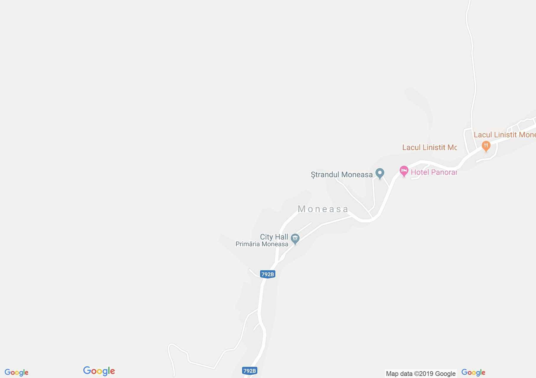 Map of Moneasa: Moneasa