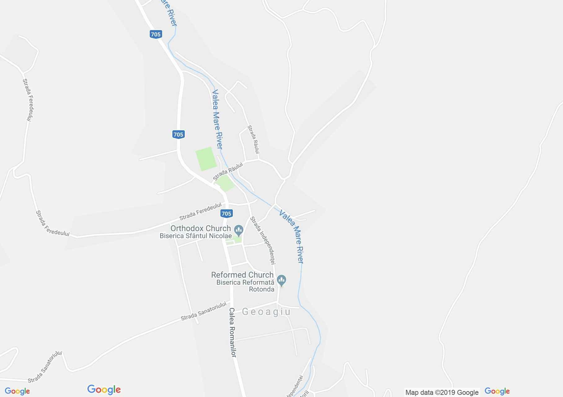 Hartă Geoagiu: Capela Rotonda