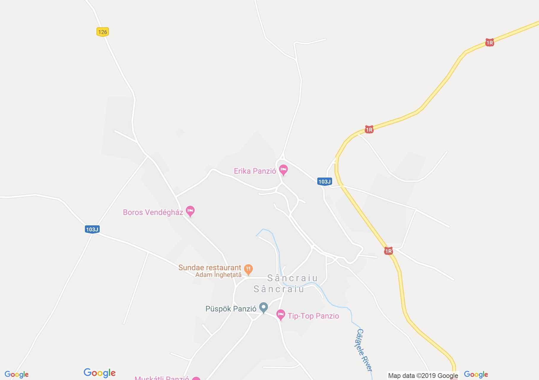 Tánc: Felszeg Gyöngye néptáncegyüttes - Kalotaszentkirály (térkép)