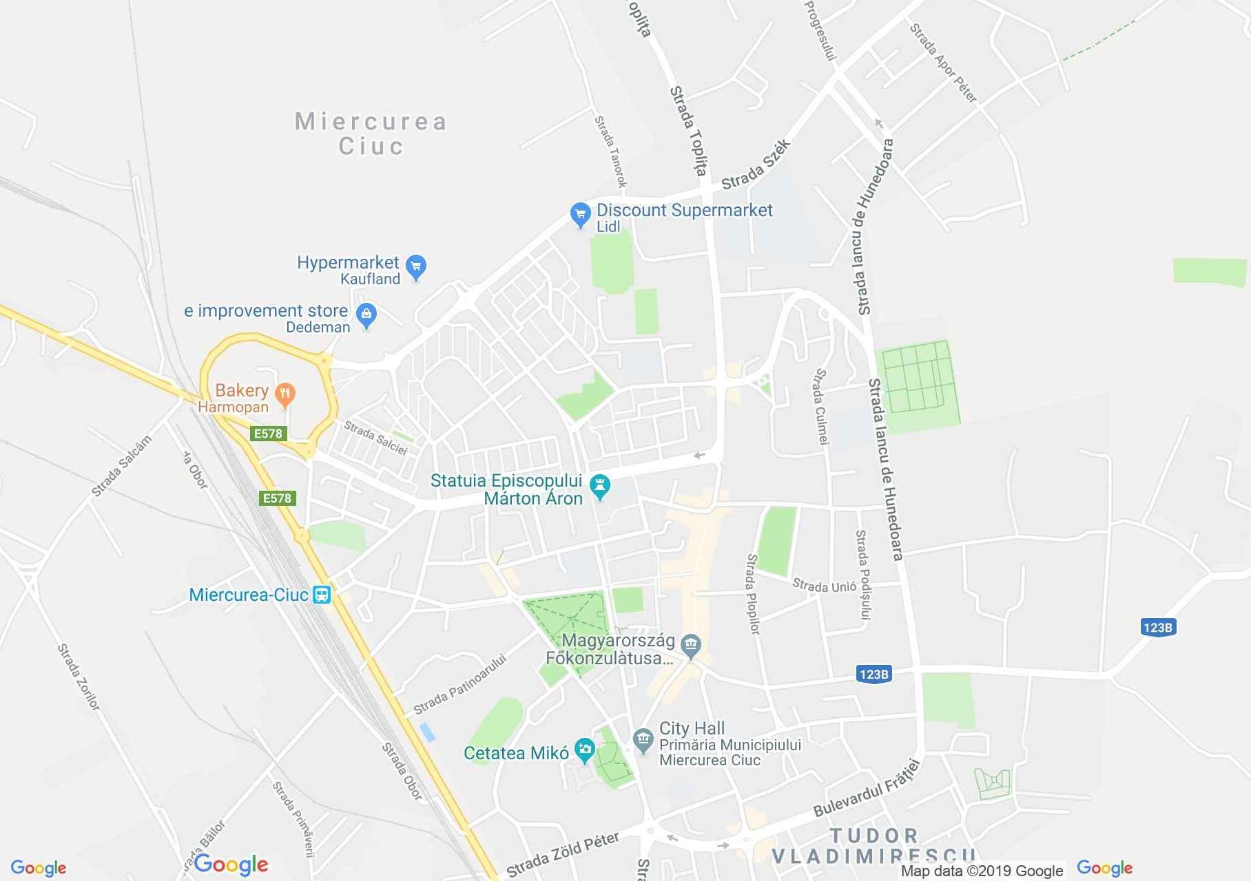 Tánc: Hargita néptáncegyüttes - Csíkszereda (térkép)