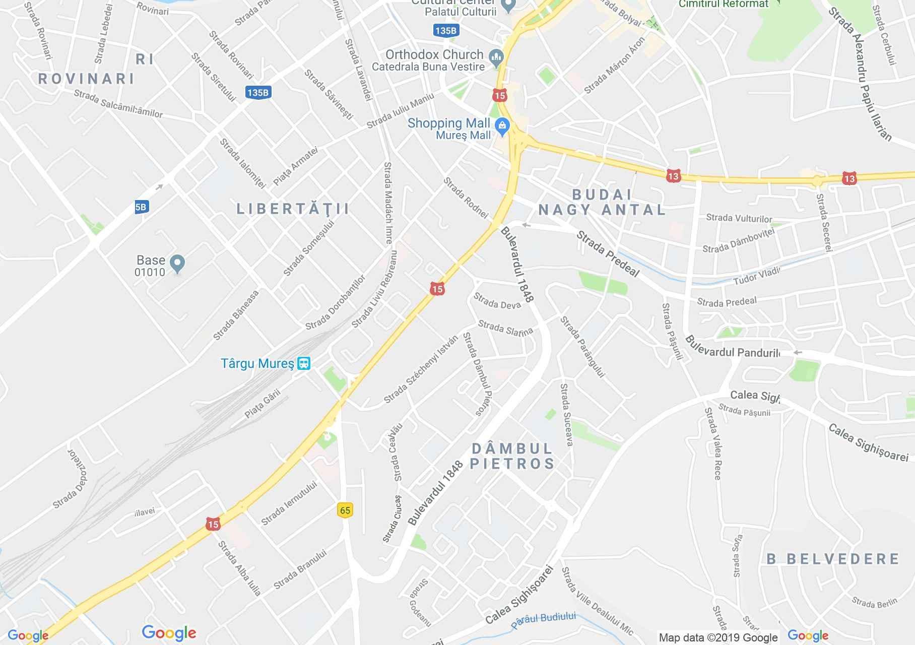 Tánc: Maros néptáncegyüttes - Marosvásárhely (térkép)