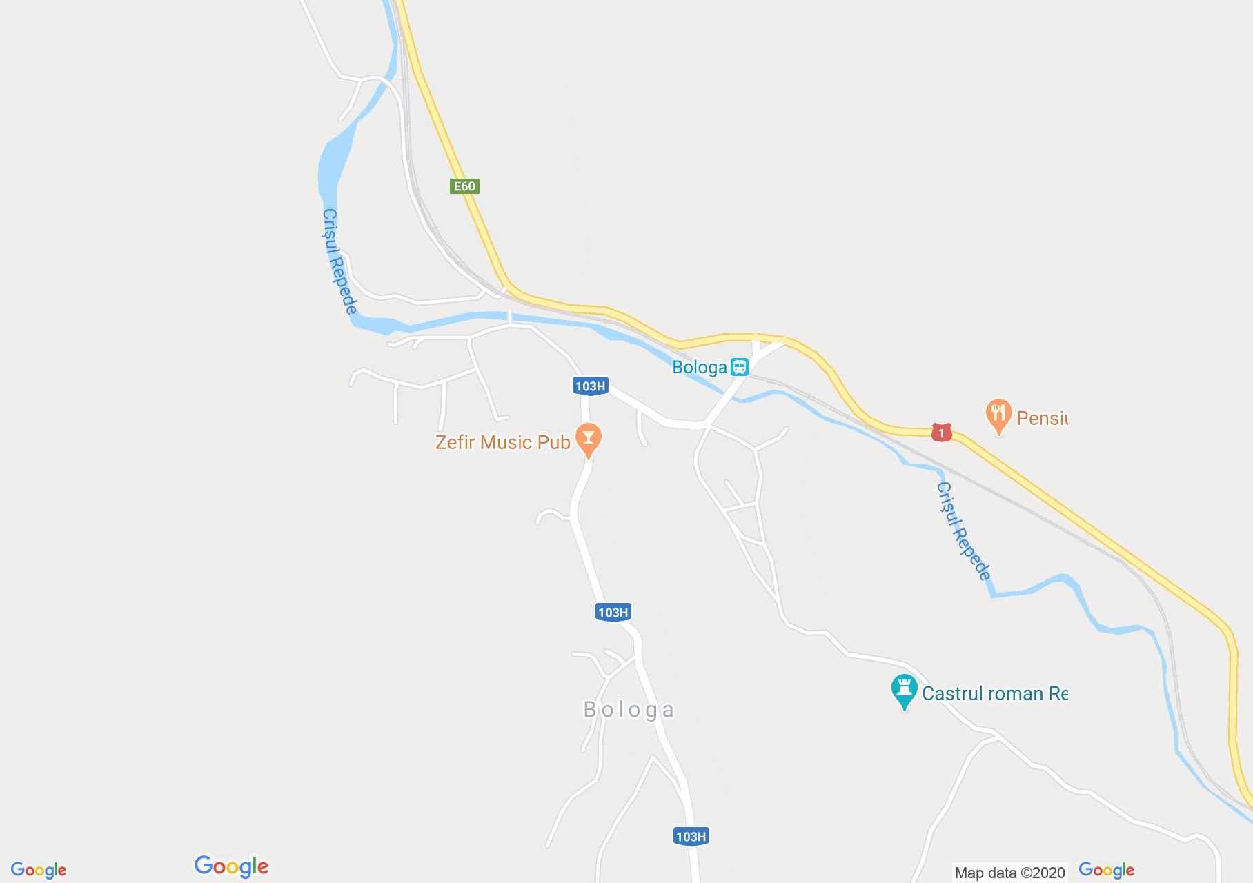 Sebesvár (térkép)