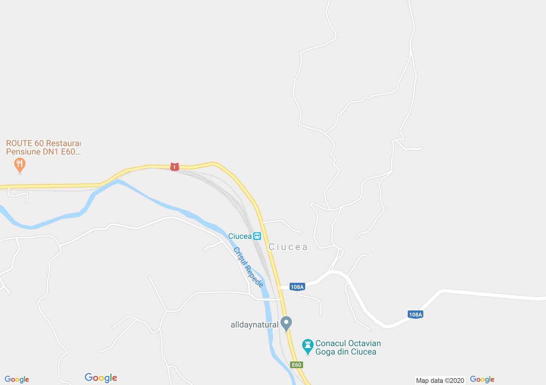 Csucsa (térkép)