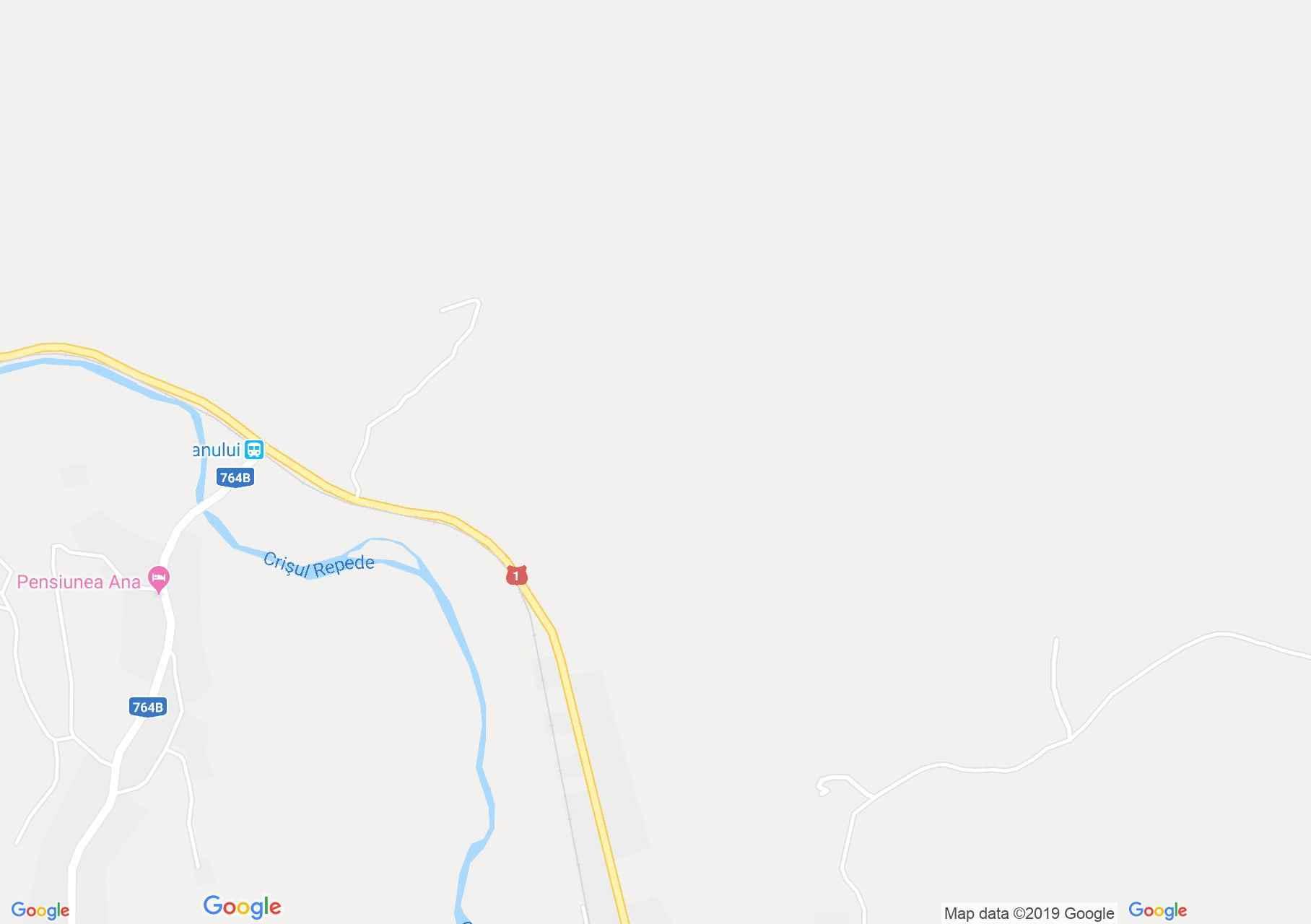 Map of Poieni: Alesia pension