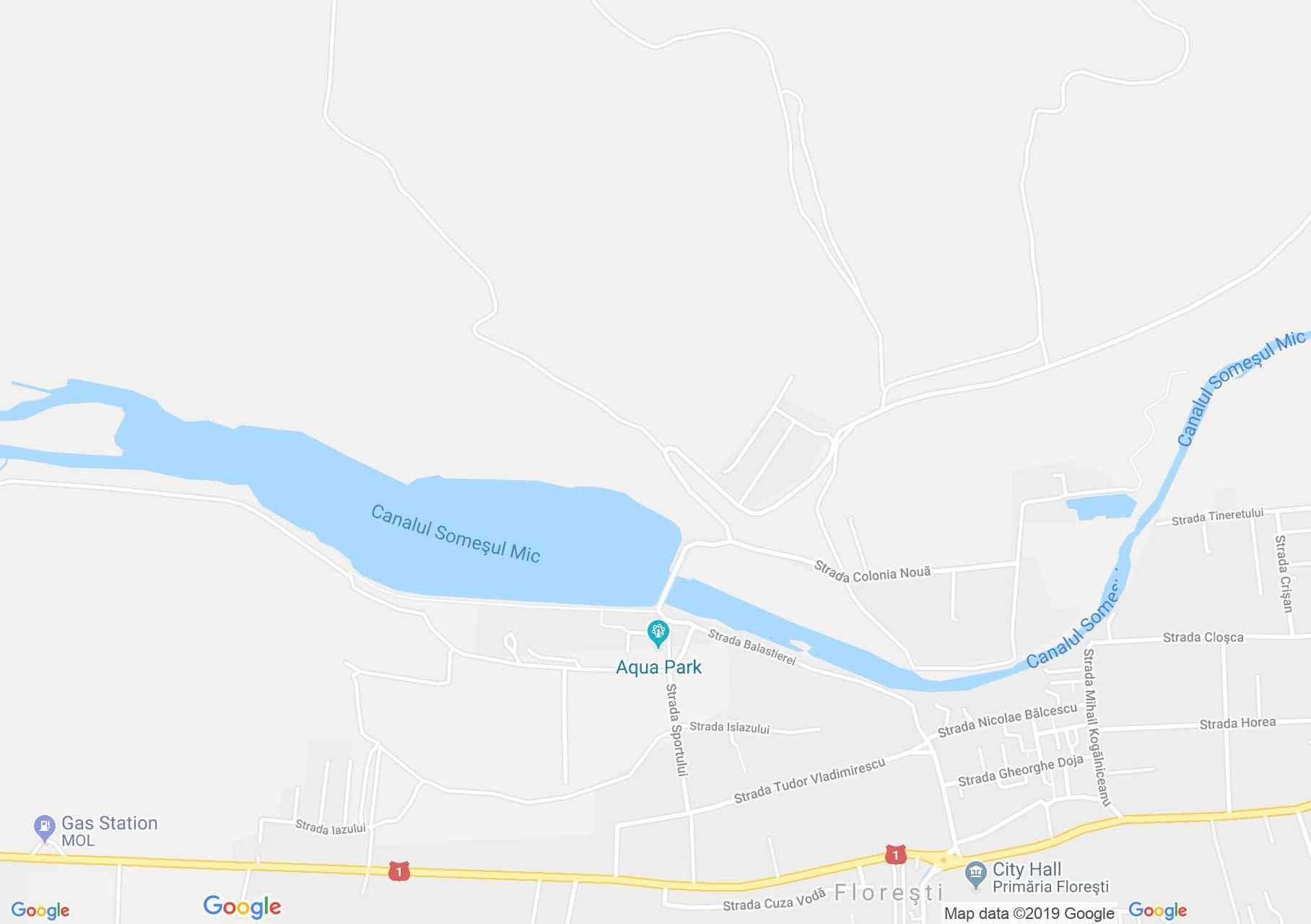 Szászfenes: Casa Zânelor panzió (térkép)