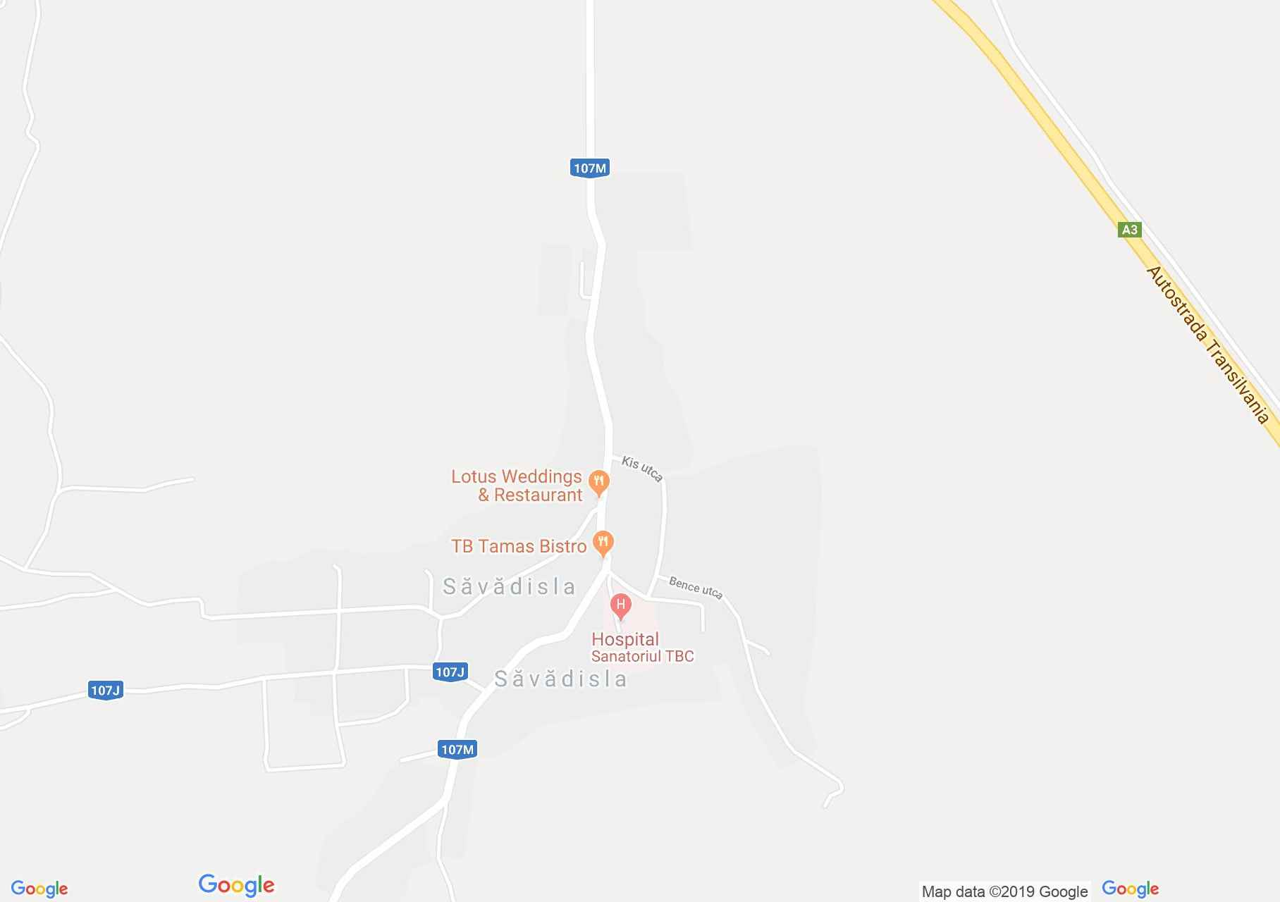 Tordaszentlászló: Mikes kastély (térkép)